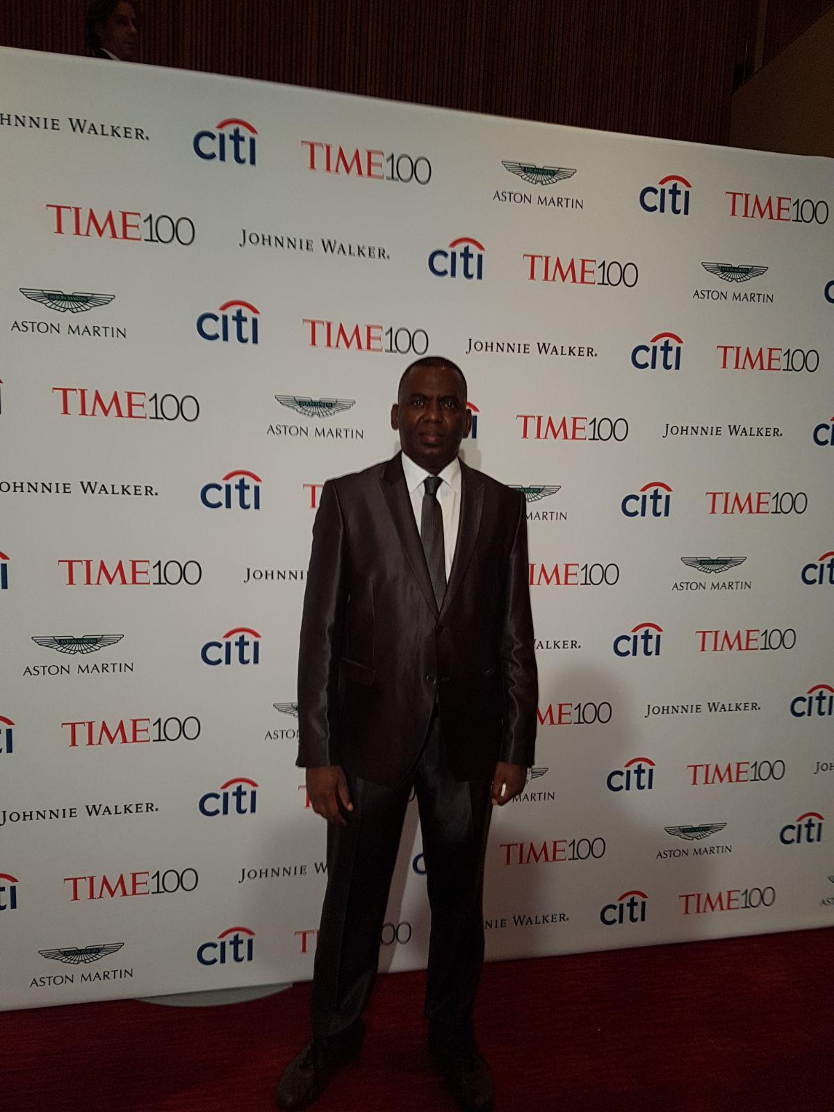 بيرام خلال حفل التايم لتكريم أكثر 100 شخصية تأثيرا في العالم