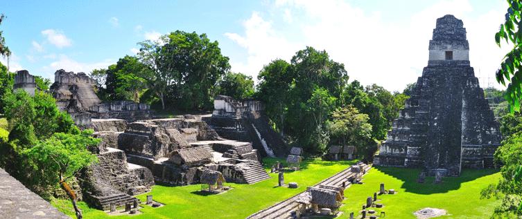 تيكال - غواتيمالا - موقع لحضارة المايا
