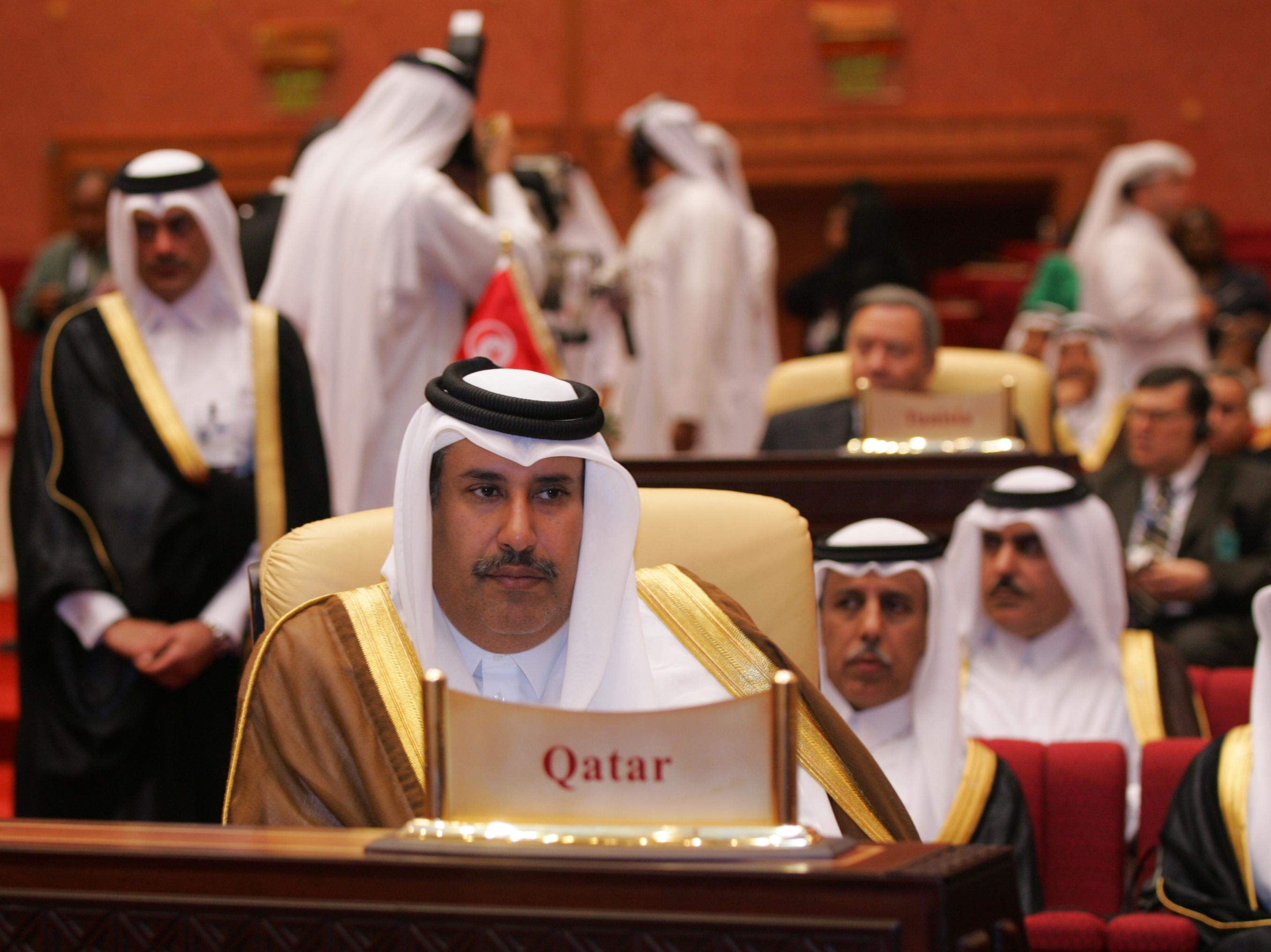 رئيس الوزراء القطري حمد بن جاسم آل ثاني