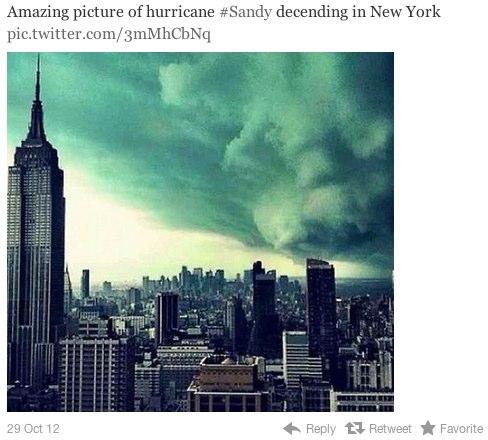 سحب فوق نيويورك
