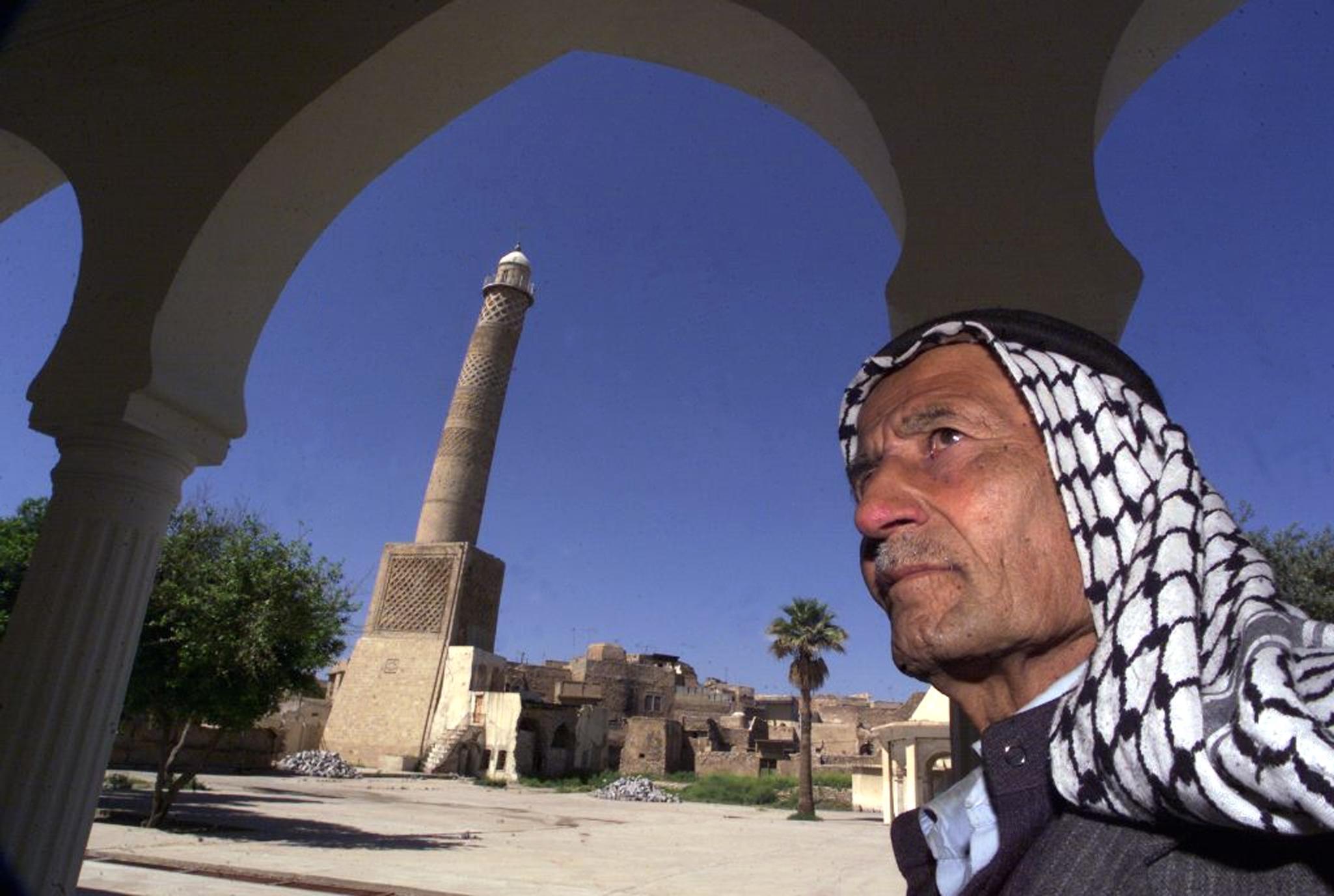 المنارة الحدباء في الموصل، أرشيف