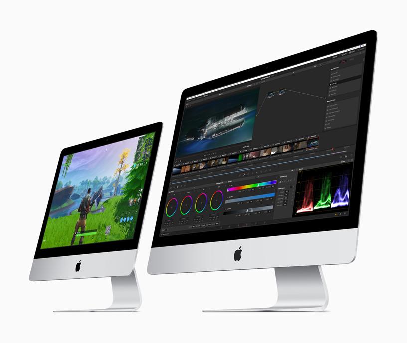 أجهزة iMac الجديدة