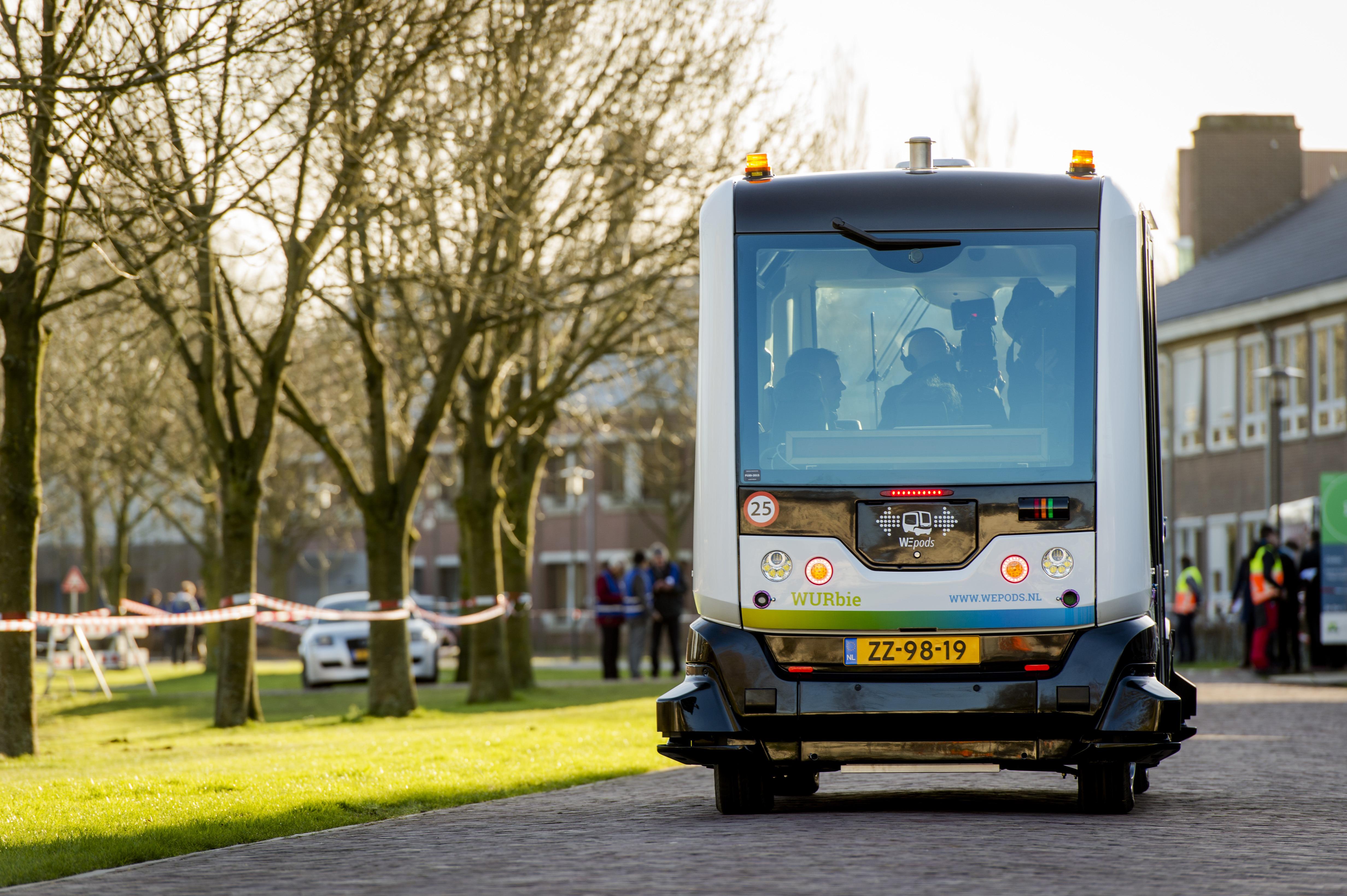 تجربة جديدة في مجال النقل العام