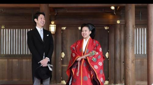 مراسم زواج الأميرة اليابانية أياكو من كي موريا