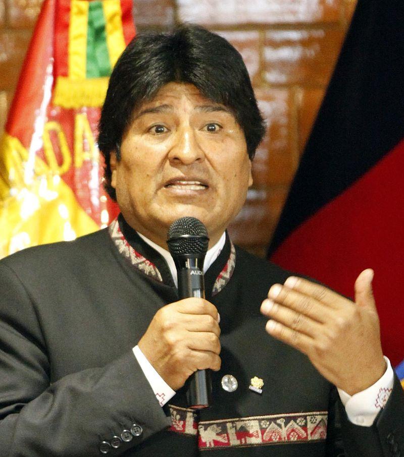 الرئيس البوليفي ايفو موراليس
