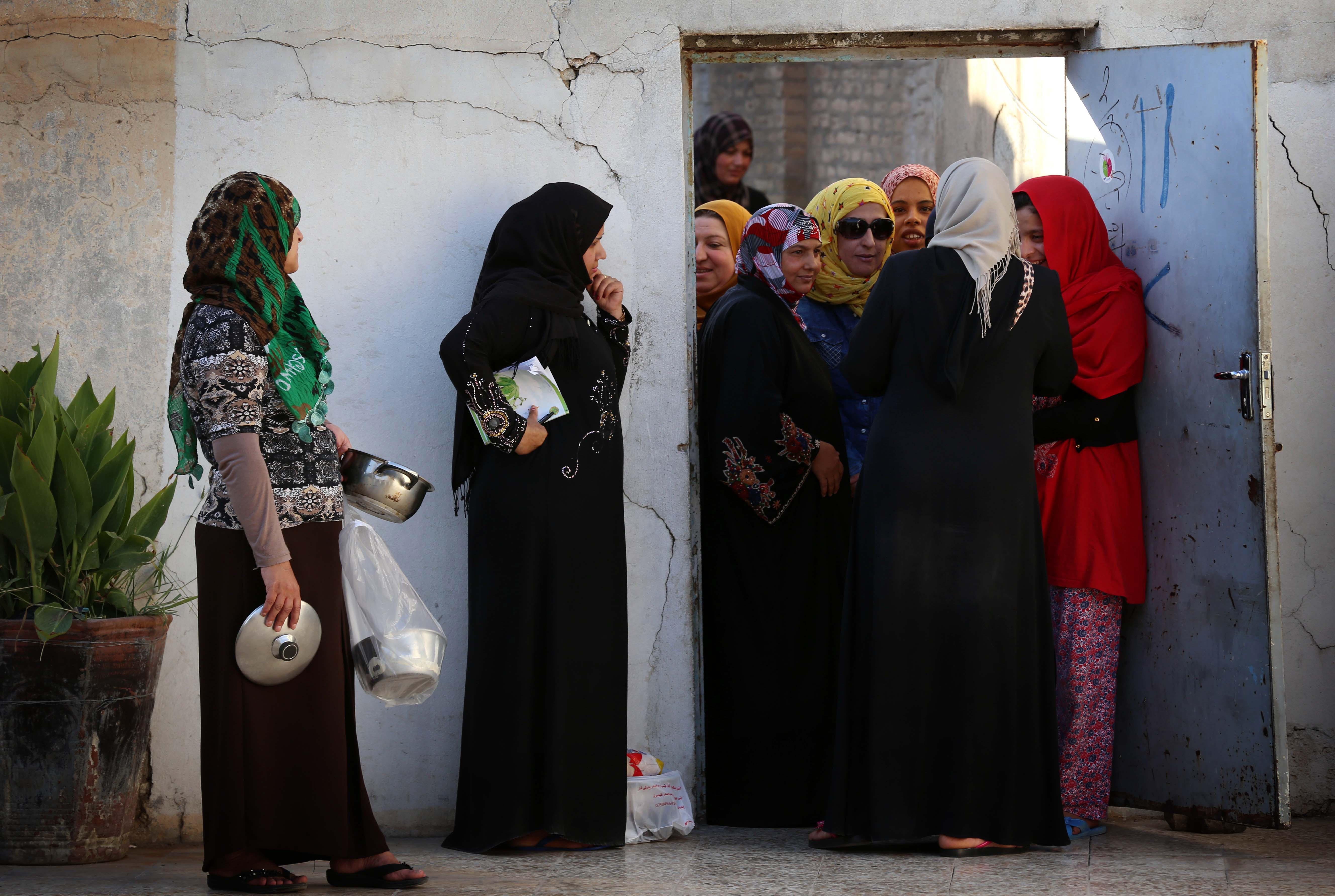 النزوح كان على قائمة مسببات الطلاق في العراق