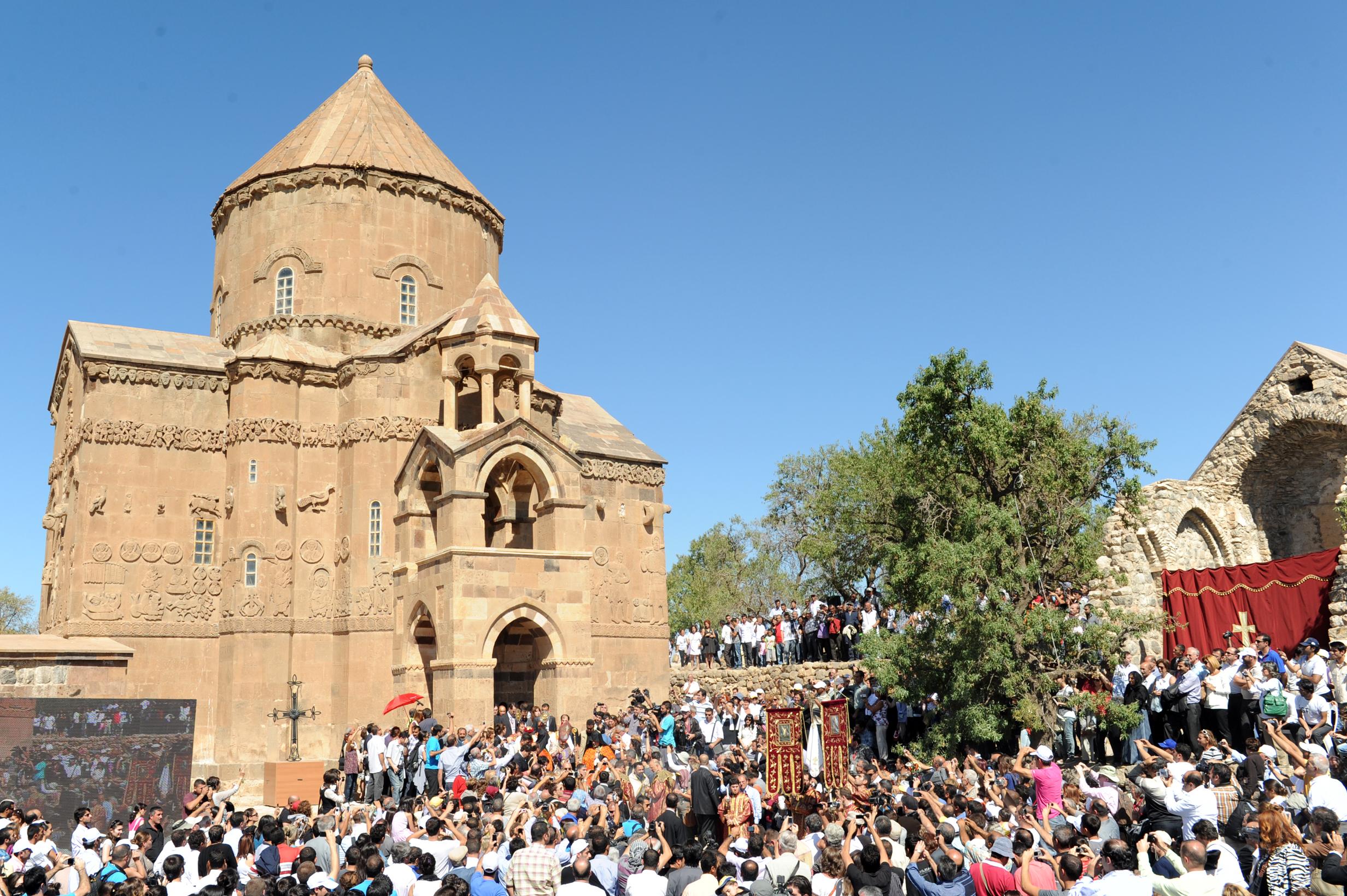 كنيسة أرمينية في تركيا
