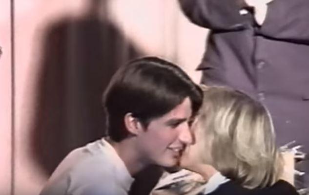 إيمانويل وبريجيت خلال عرض مسرحي