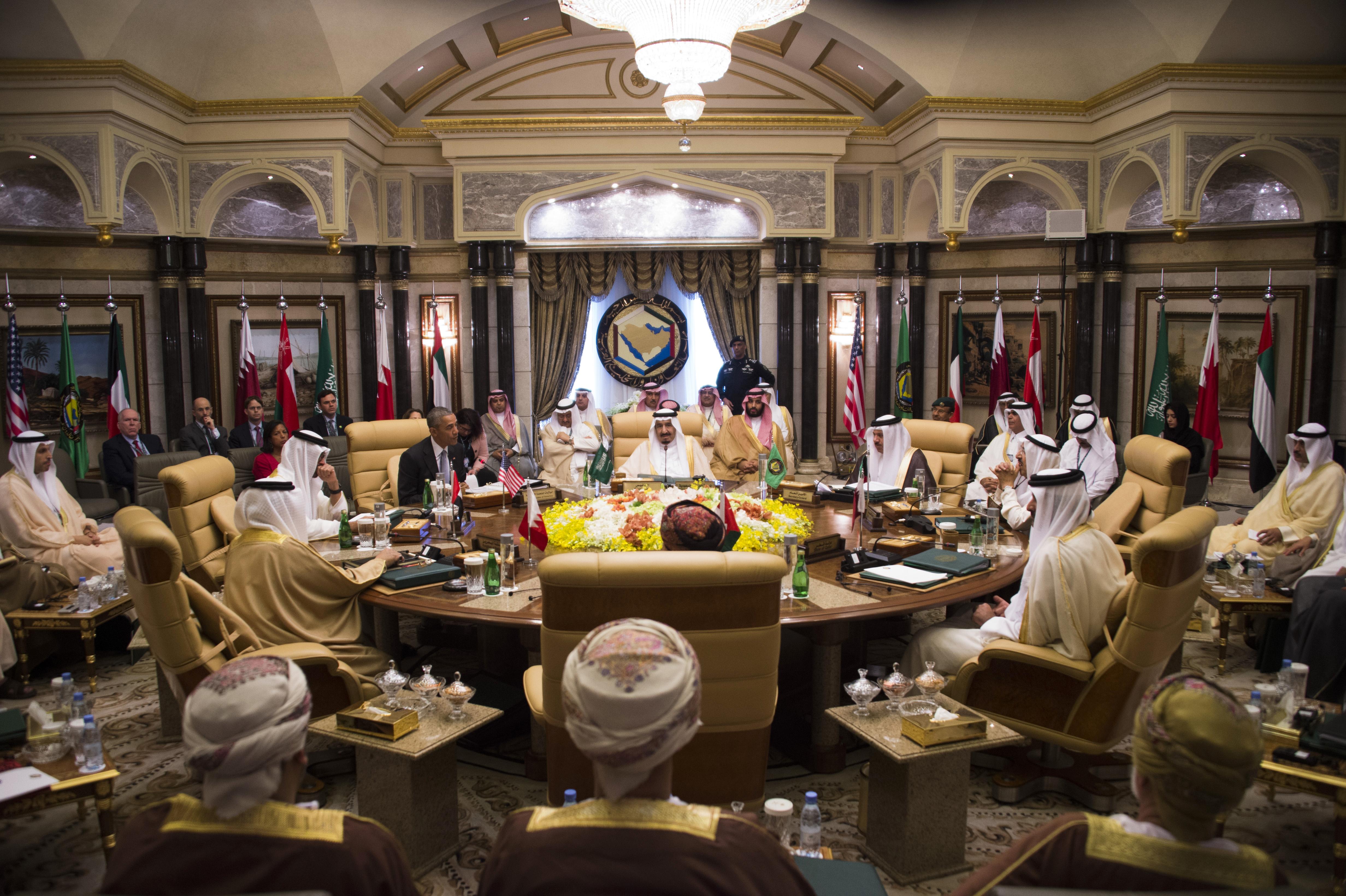 اجتماع أوباما والقادة الخليجيين في الرياض