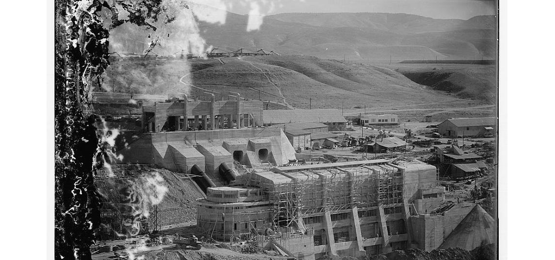 مشروع روتنبيرغ لتوليد الكهرباء. نقلا عن مكتبة الكونغرس