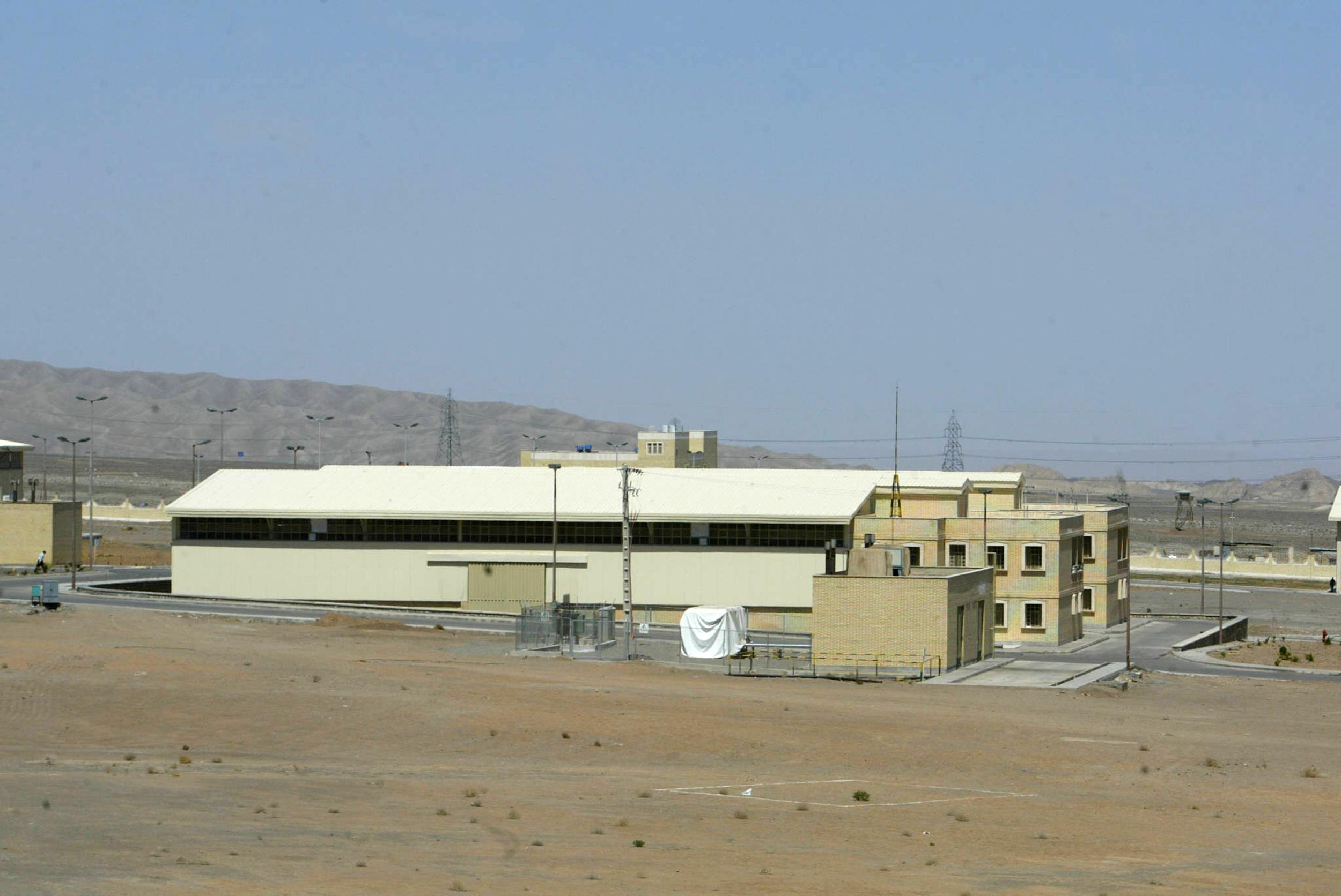 المفاعل النووي بنطنز