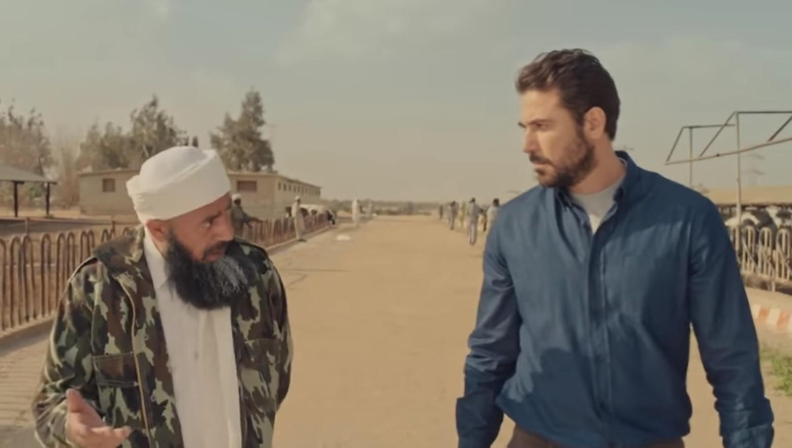 لقطة من مسلسل أبو عمر المصري