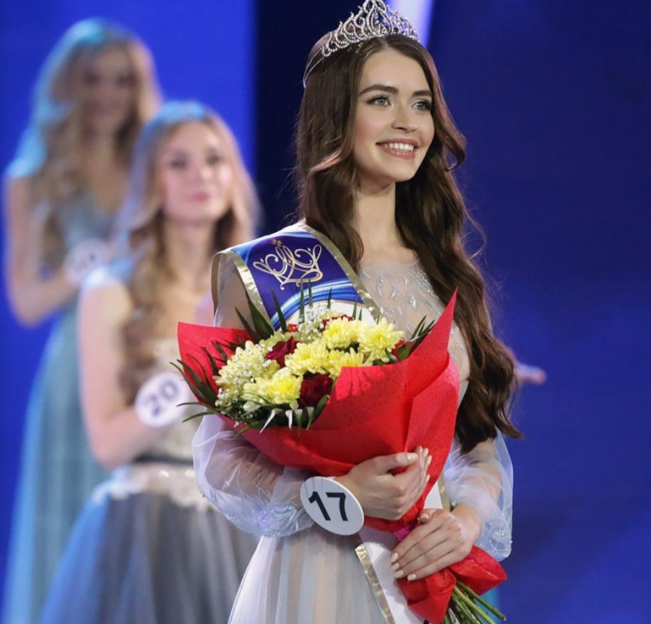البيلاروسية ماريا فاسيليفيتش الثالثة في مسابقة ملكة جمال العالم 2018
