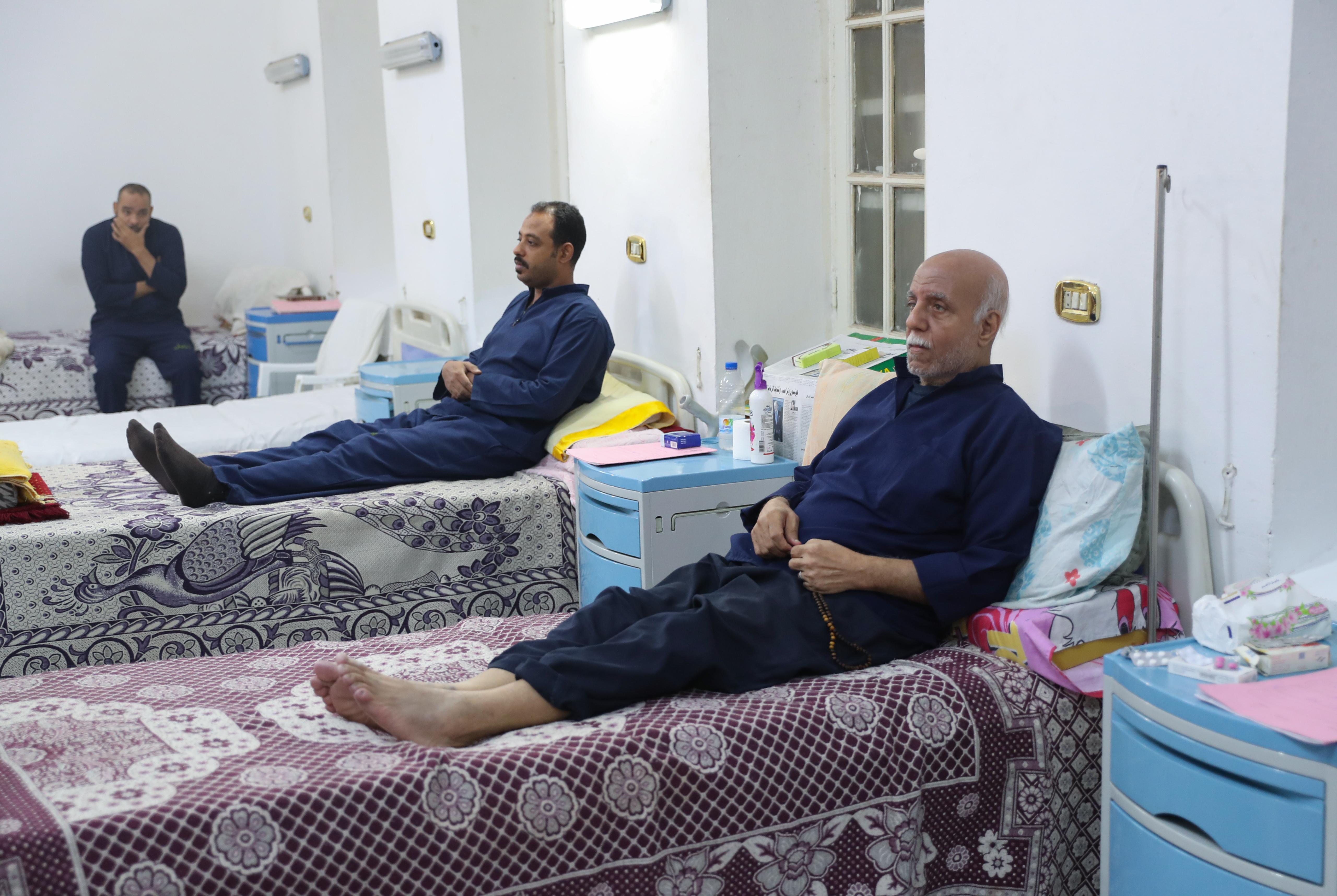 صورة التقطت لمشفى سجن طرة أثناء جولة إعلامية - 11 نوفمبر 2019