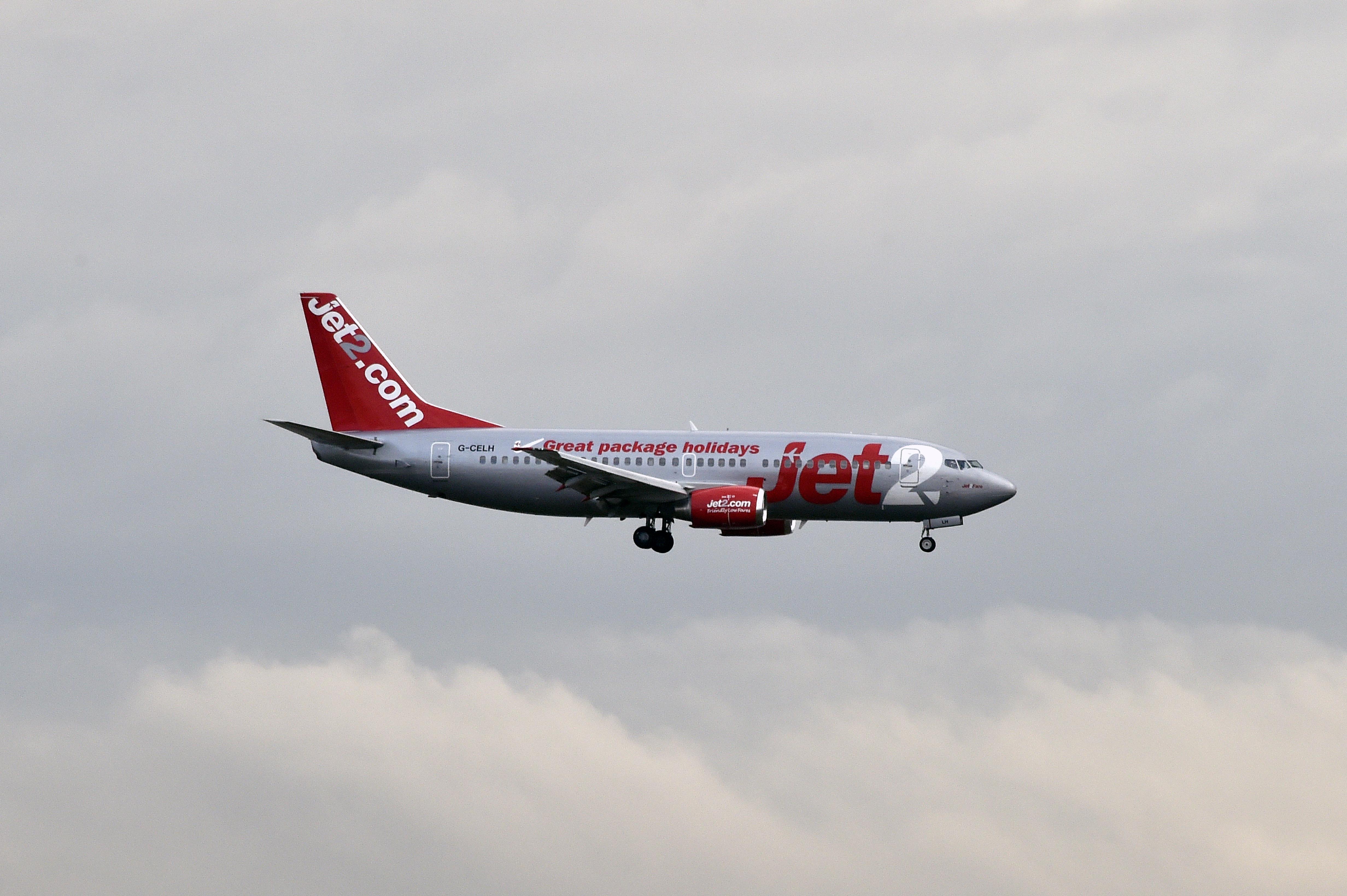طائرة تابعة لخطوط طيران jet2.com البريطانية