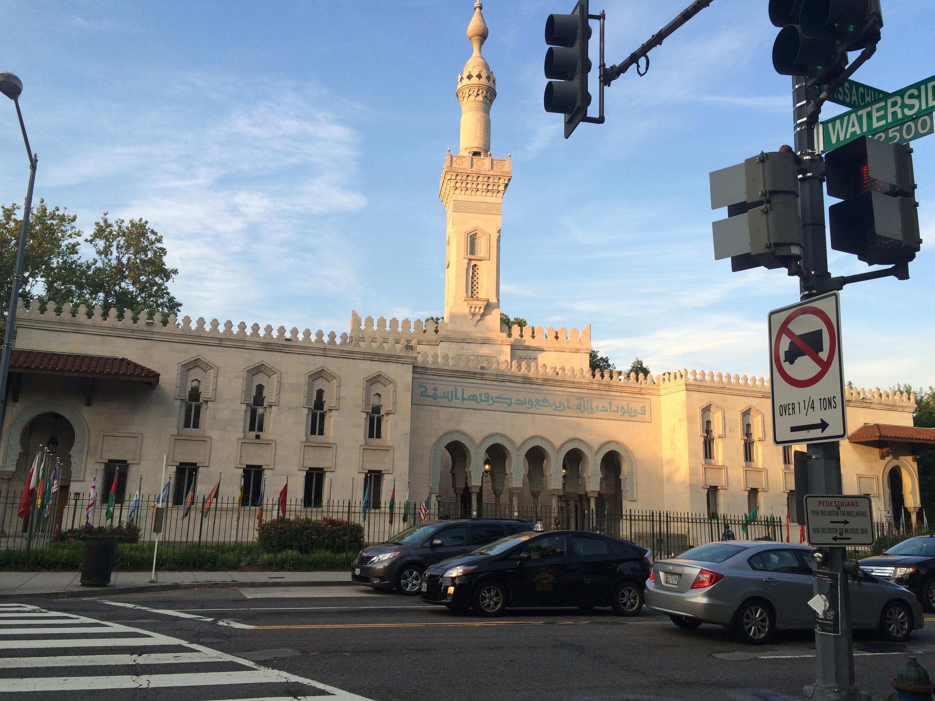 مشهد عام للمسجد