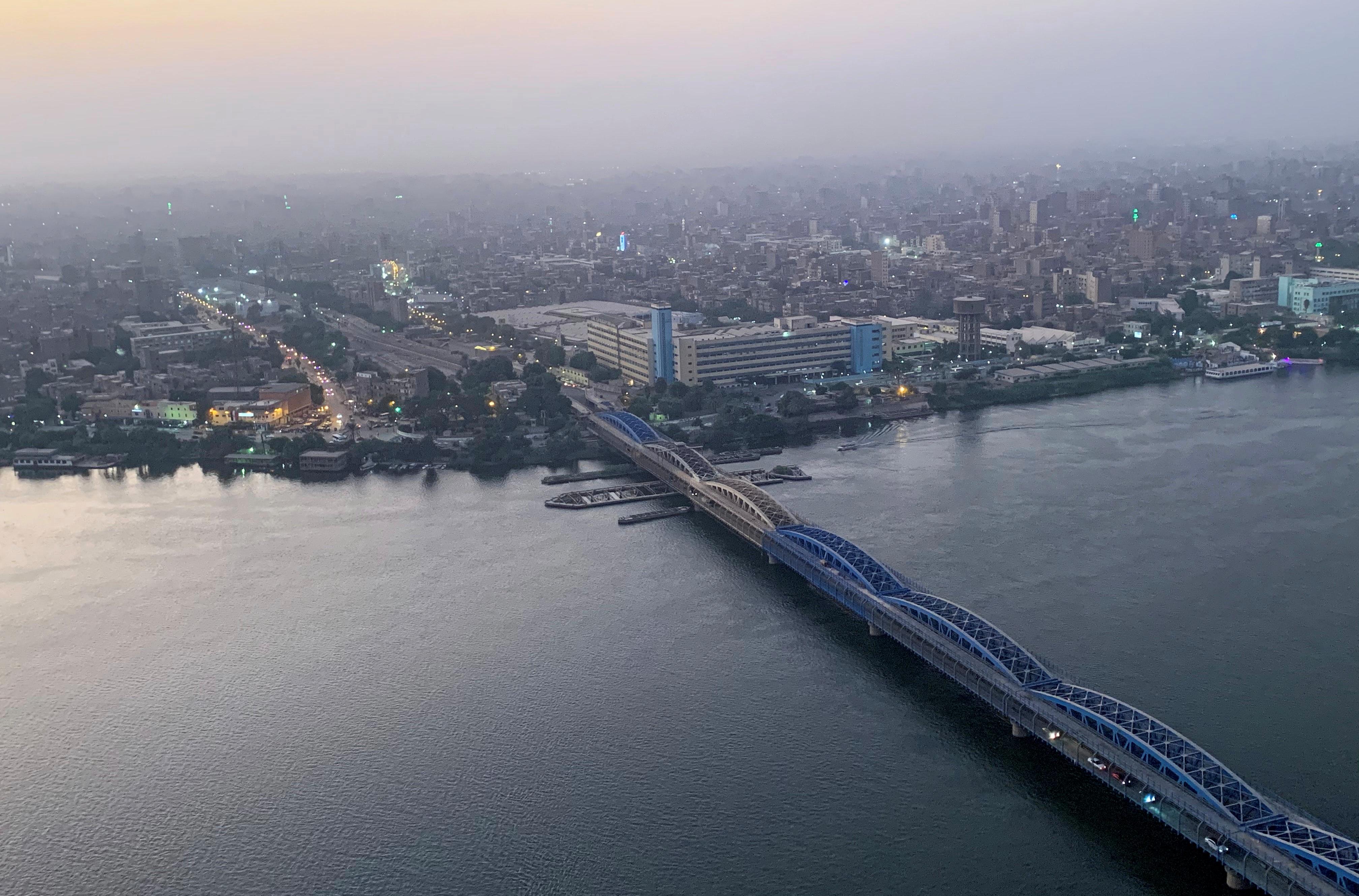 النيل يشكل المصدر الأكبر للمياه في مصر