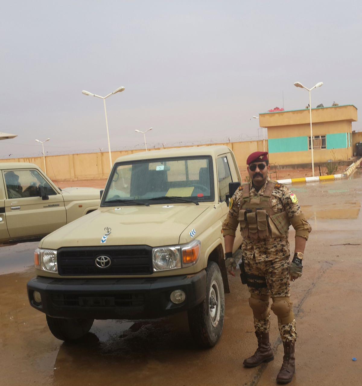 الملازم أول أبوبكر الذي أظهر فيديو عملية نحره على أيدي عناصر داعش
