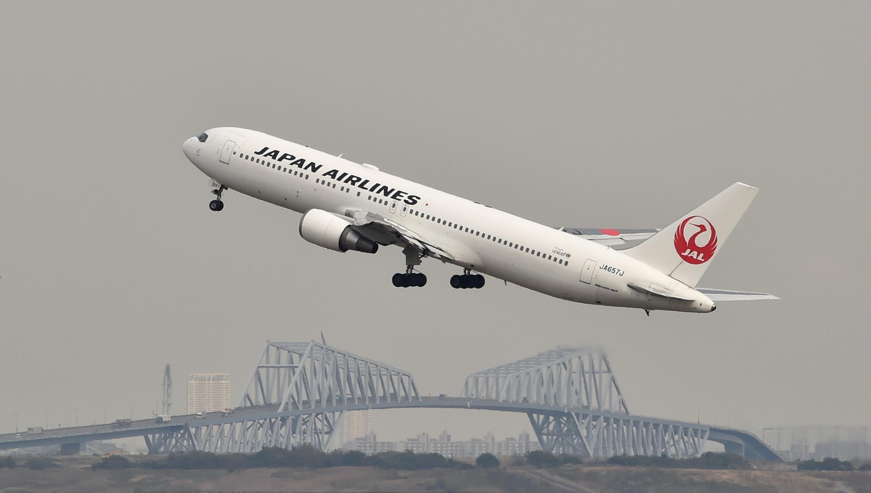 طائرة تابعة للخطوط الجوية اليابانية (JAL)