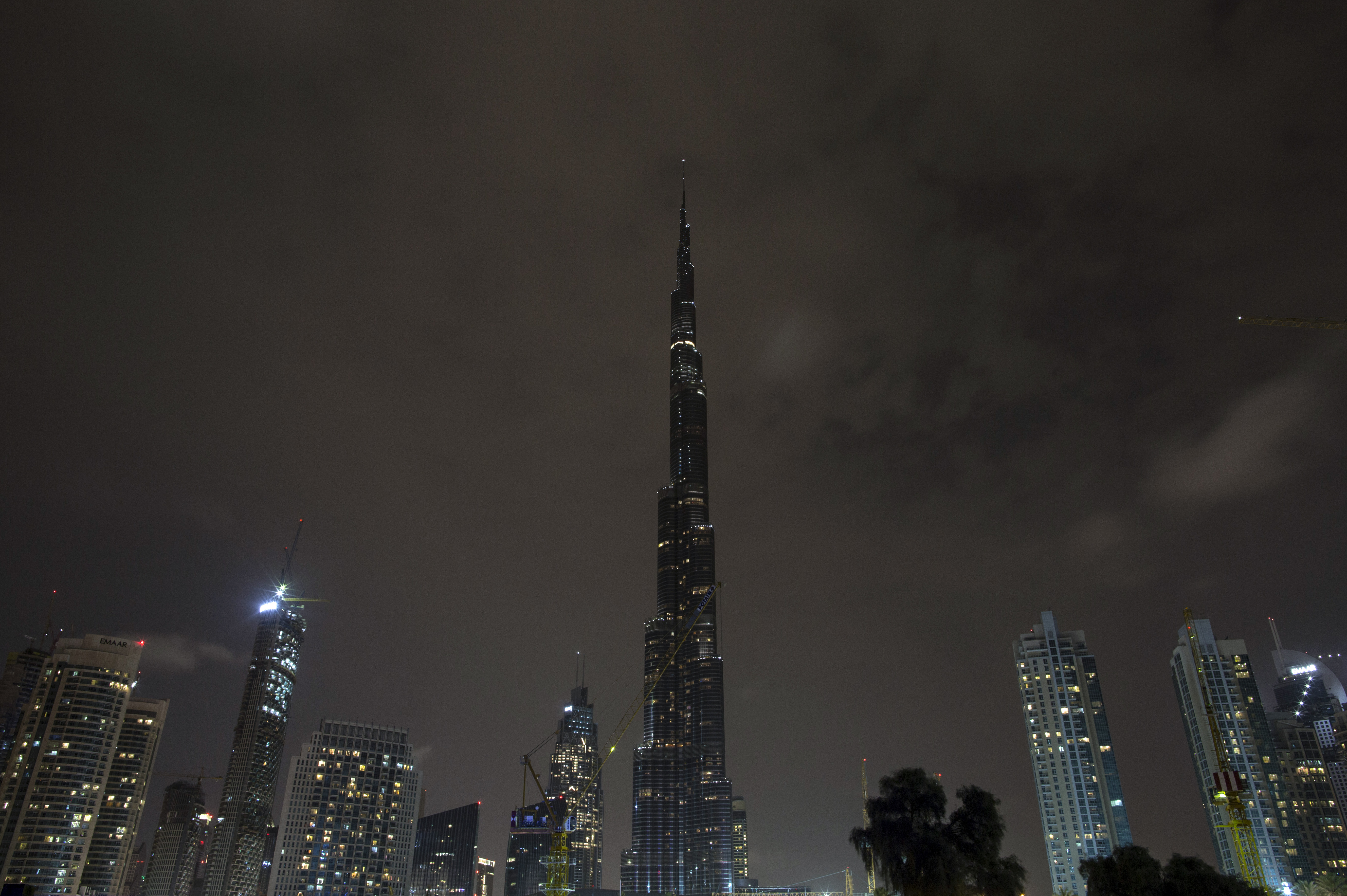 إطفاء الأضواء عن برج خليفة