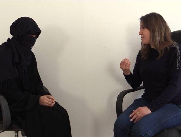 في مقابلة مع إحدى نساء داعش التي ألقي القبض عليها