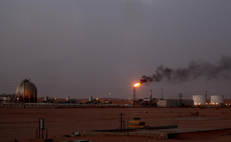 أحد حقول النفط التابعة لشركة أرامكو