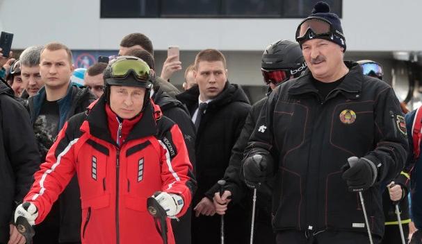 الرئيس بوتين ونظيره البيلاروسي
