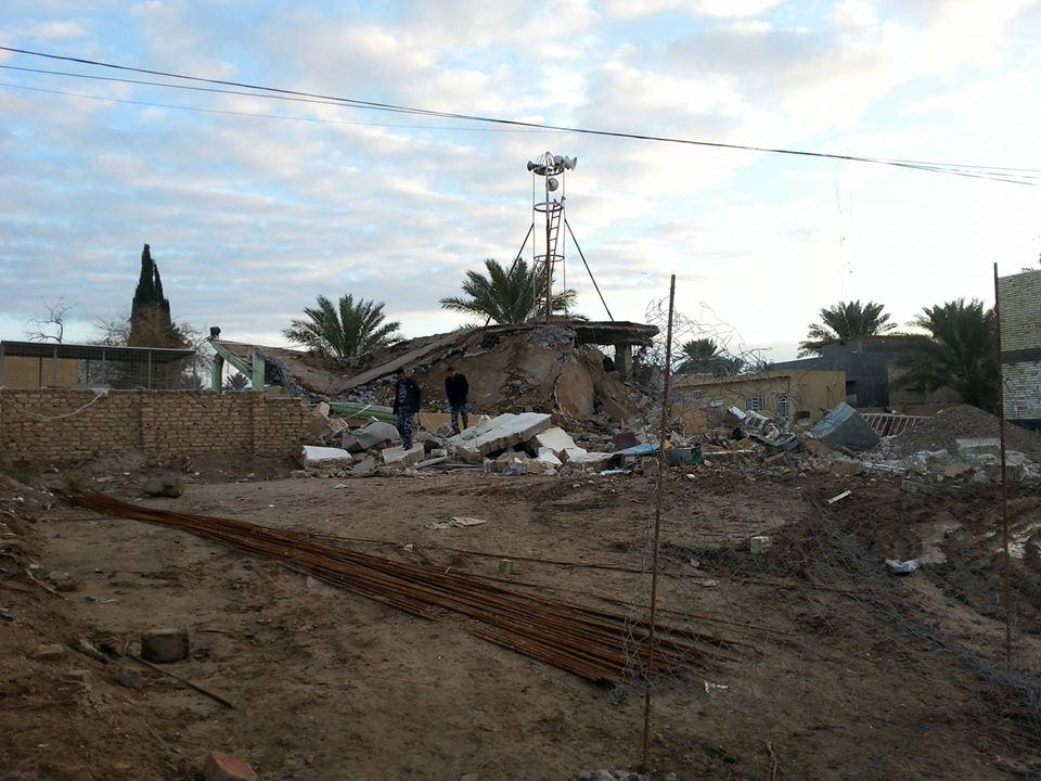 جامع الفتح في قرية سنجار