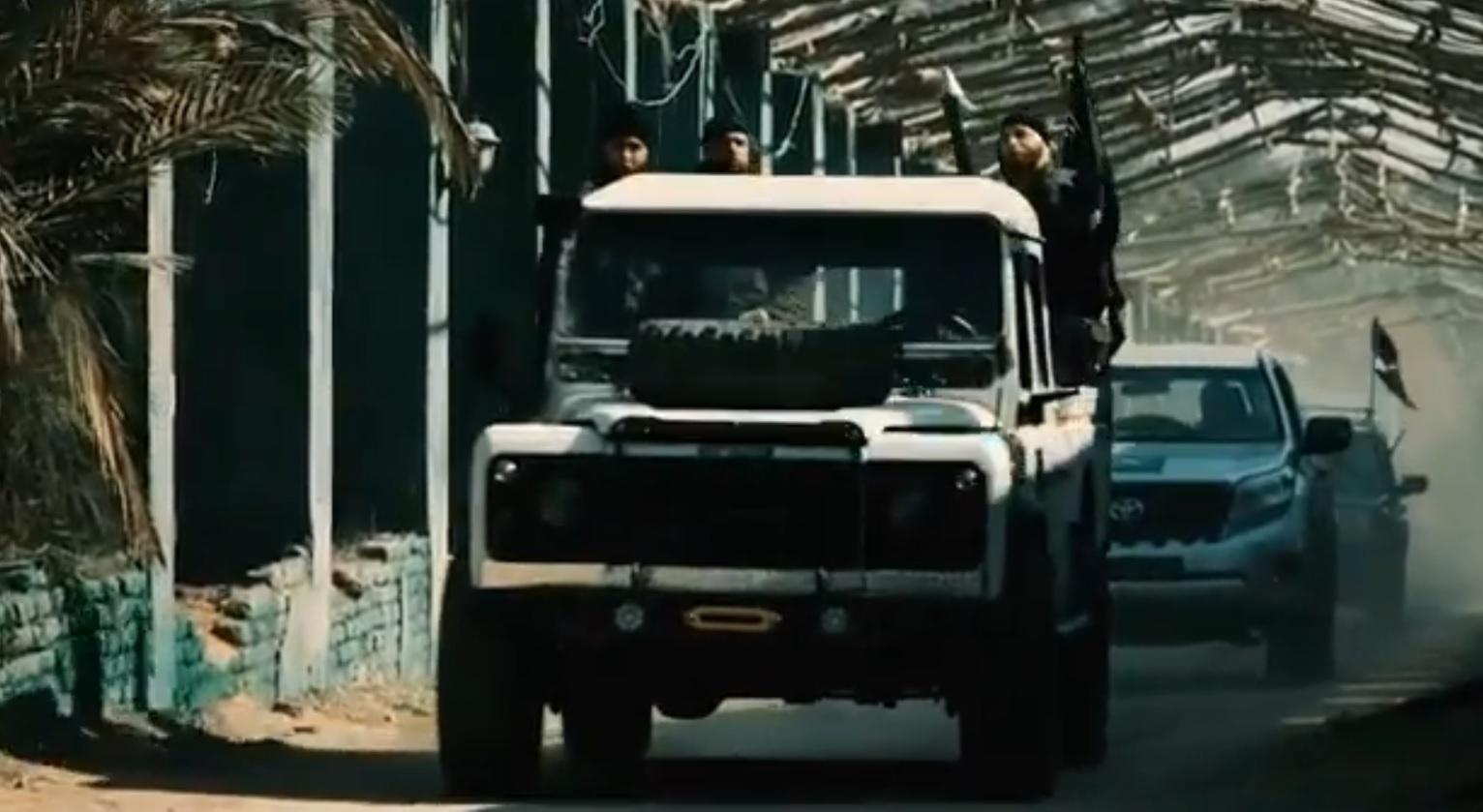 لقطة من مسلسل السهام المارقة