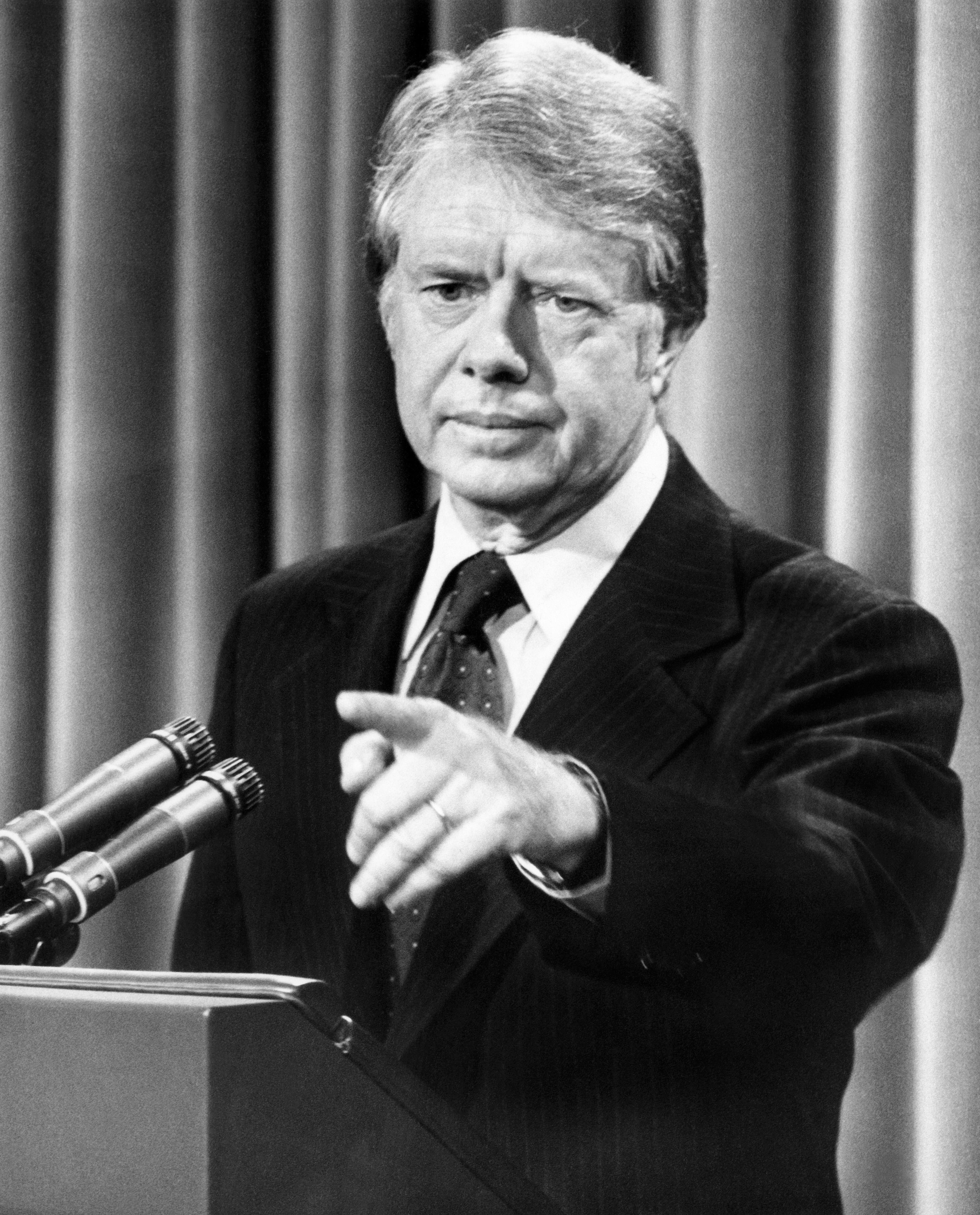 الرئيس جيمي كارتر