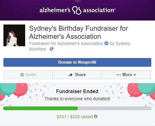سيدني تطلق حملة تبرع لمرضى الألزهايمر