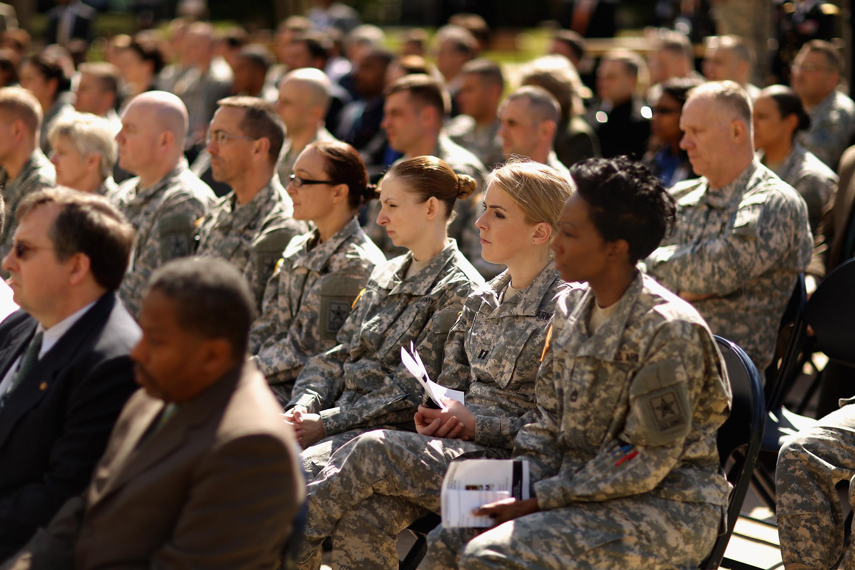 جنديات أميركيات
