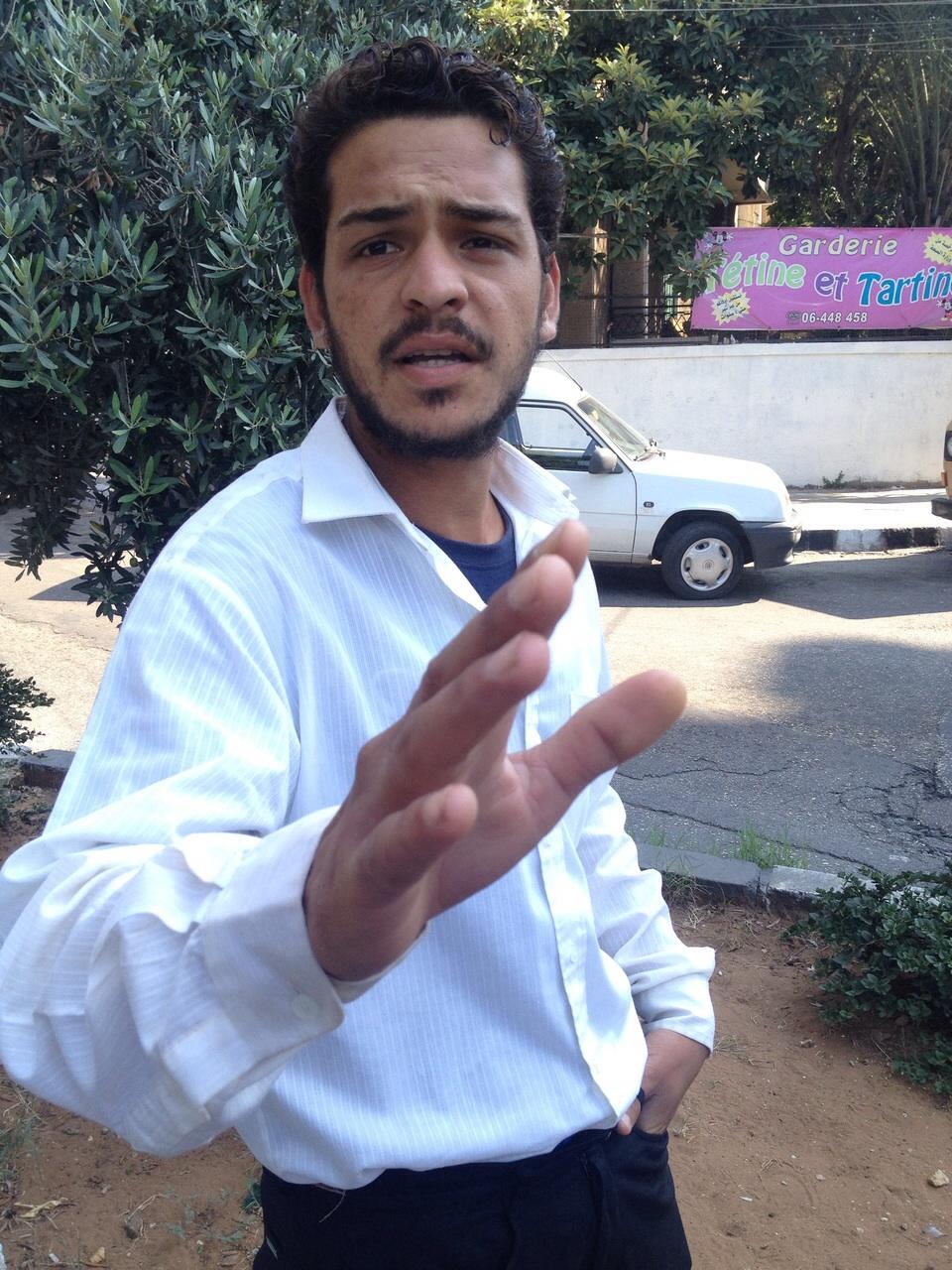 اللاجئ السوري راشد ياسر العلي