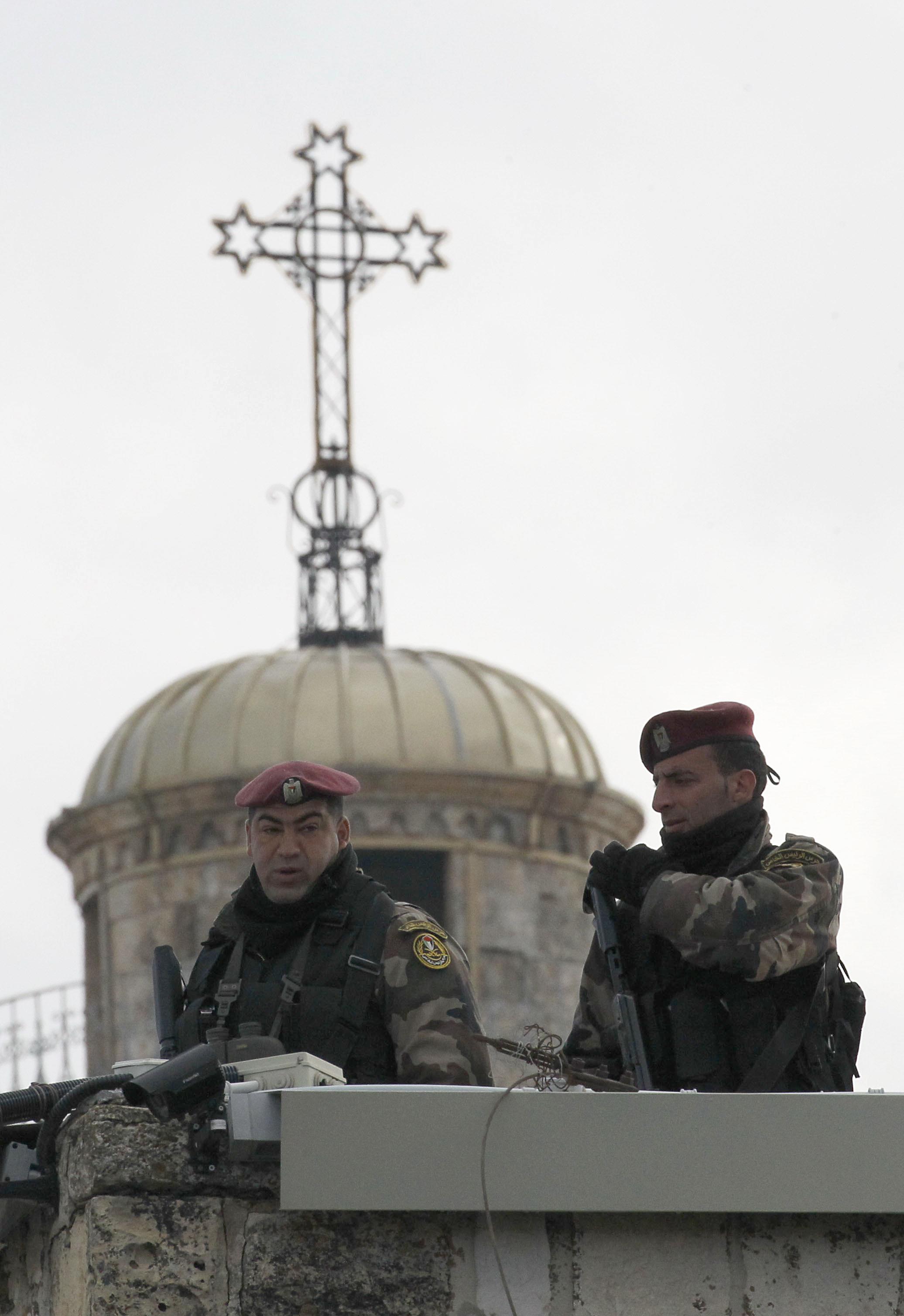 إجراءات أمنية ترافق الاحتفالات في بيت لحم