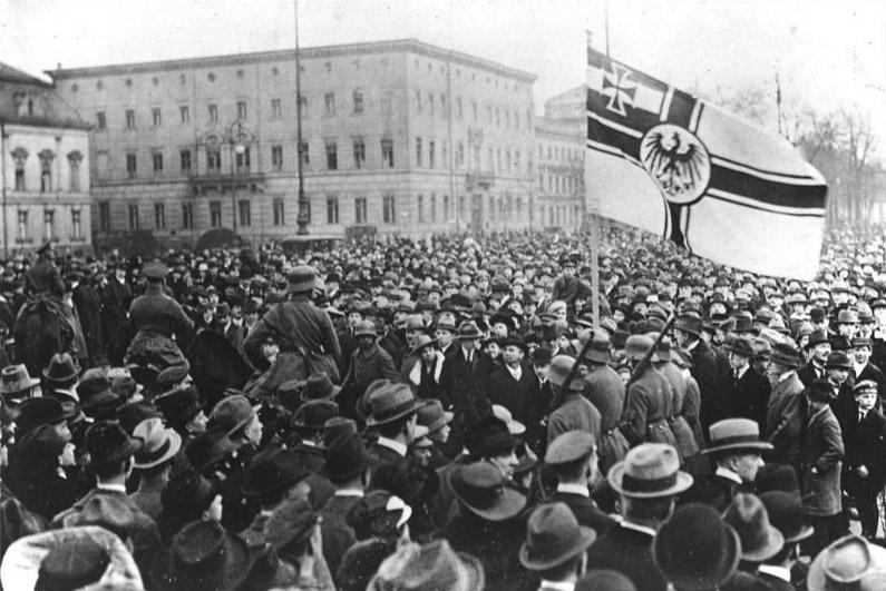 مظاهرات في ألمانيا عام 1920 احتجاجا على الانقلاب