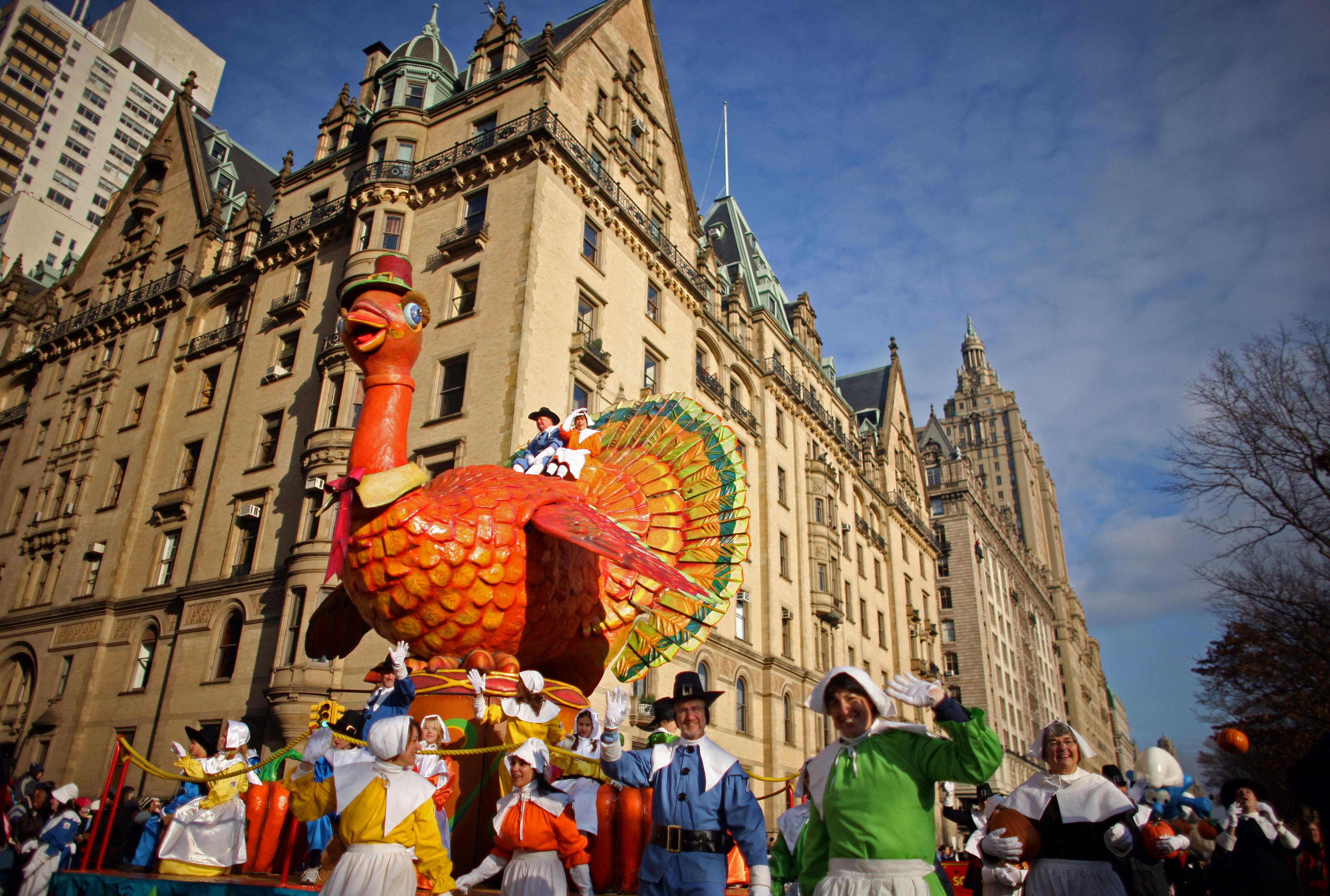 استعراض بمناسبة عيد الشكر في مدينة نيويورك