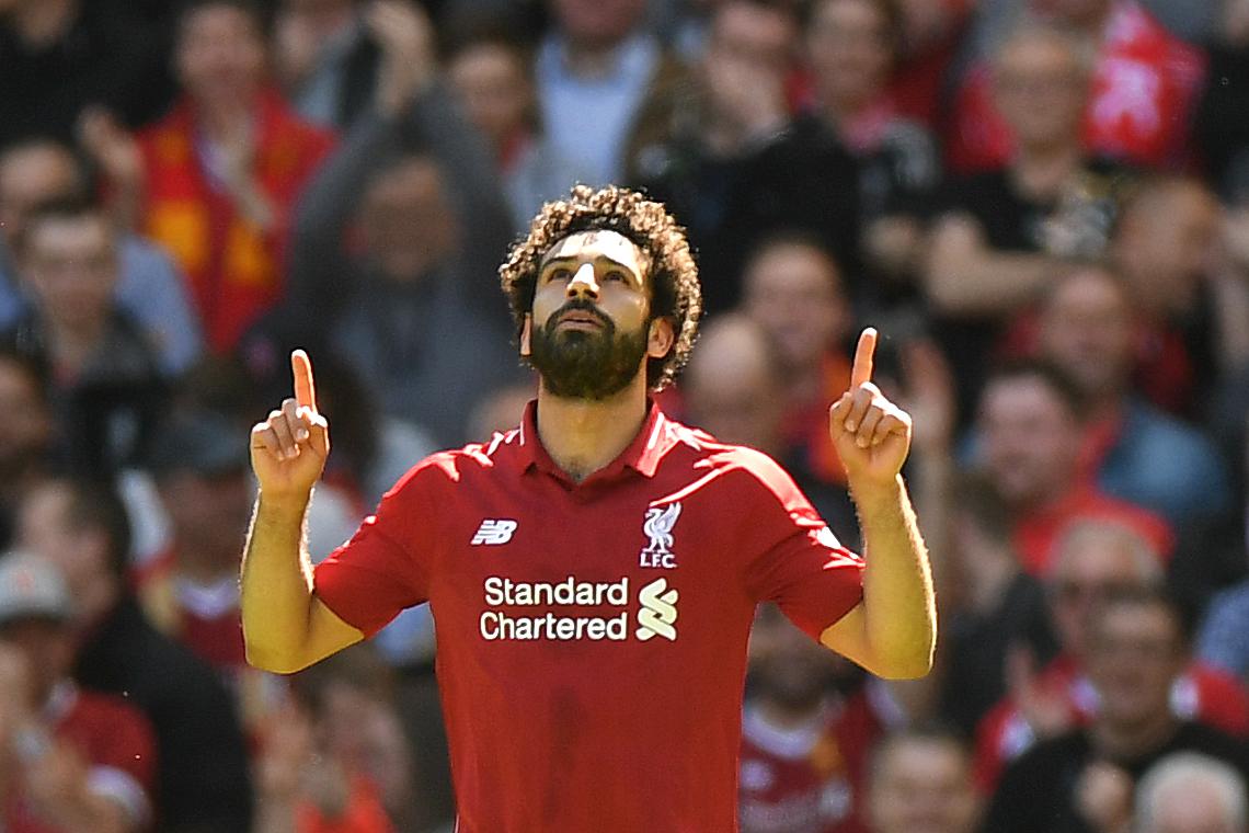 محمد صلاح اللاعب العربي الوحيد ضمن أغلى عشرة لاعبين في العالم