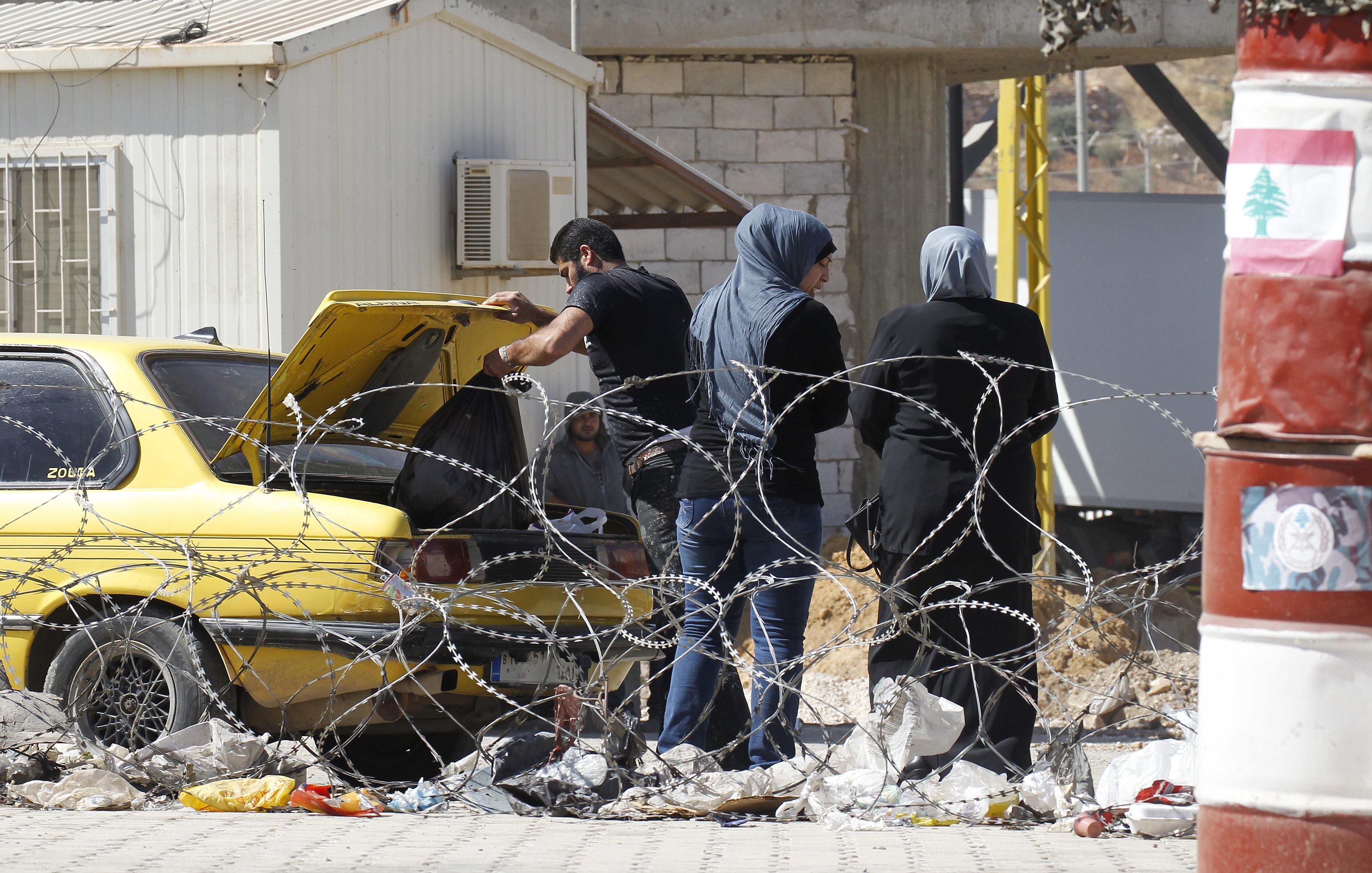 استنفار أمني على الحدود اللبنانية السورية