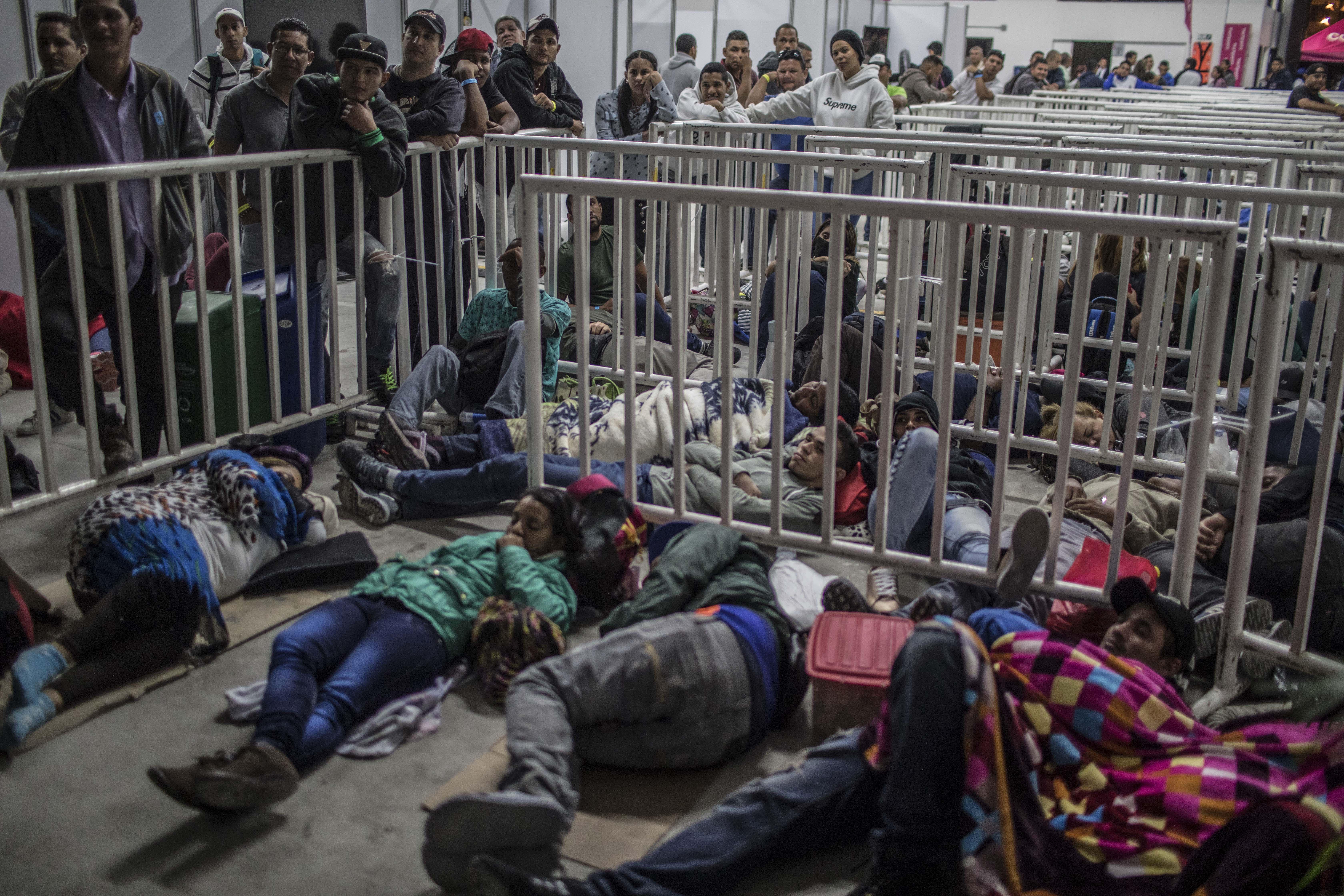 مهاجرون فنزويليون في كولومبيا
