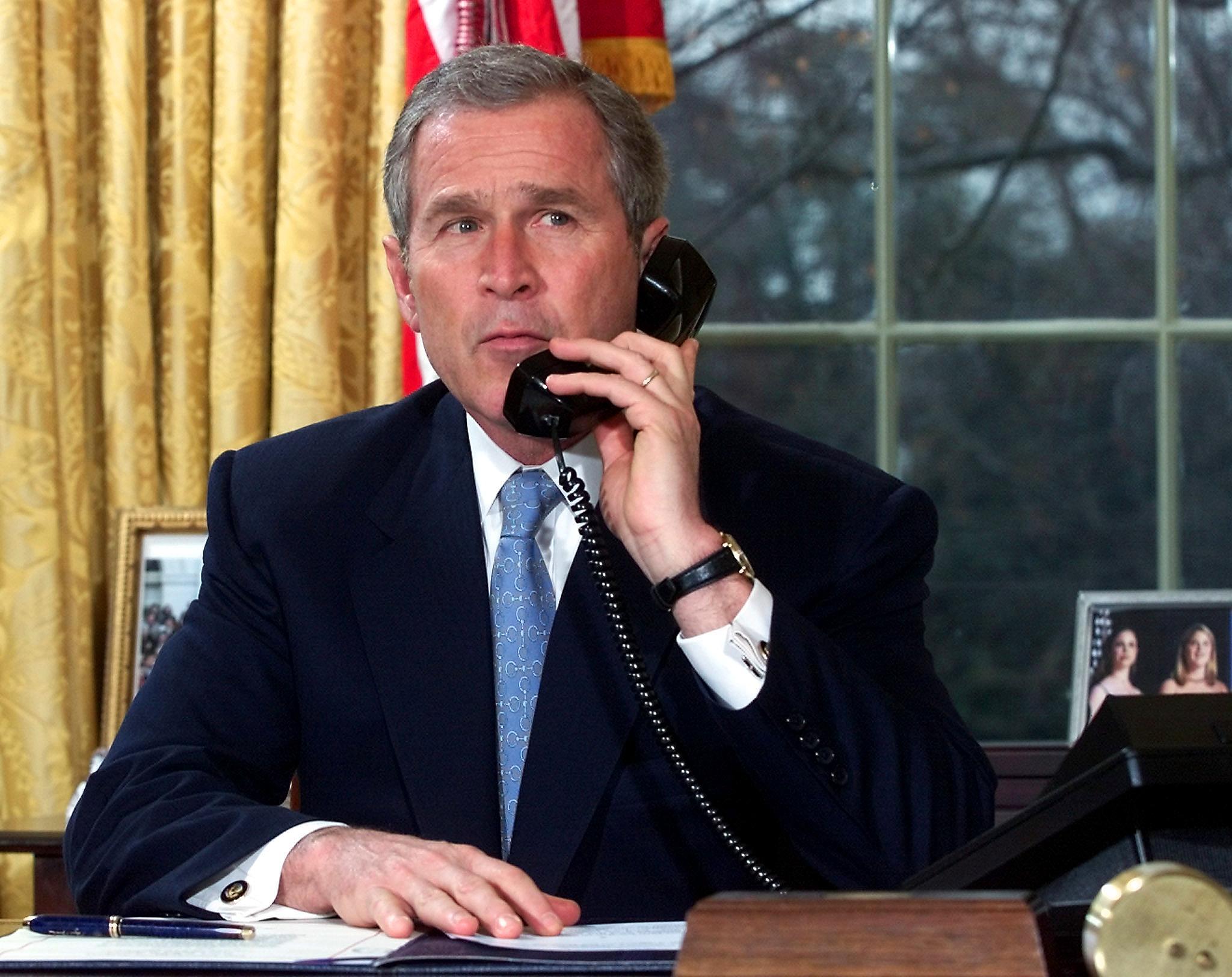الرئيس السابق جورج بوش الابن