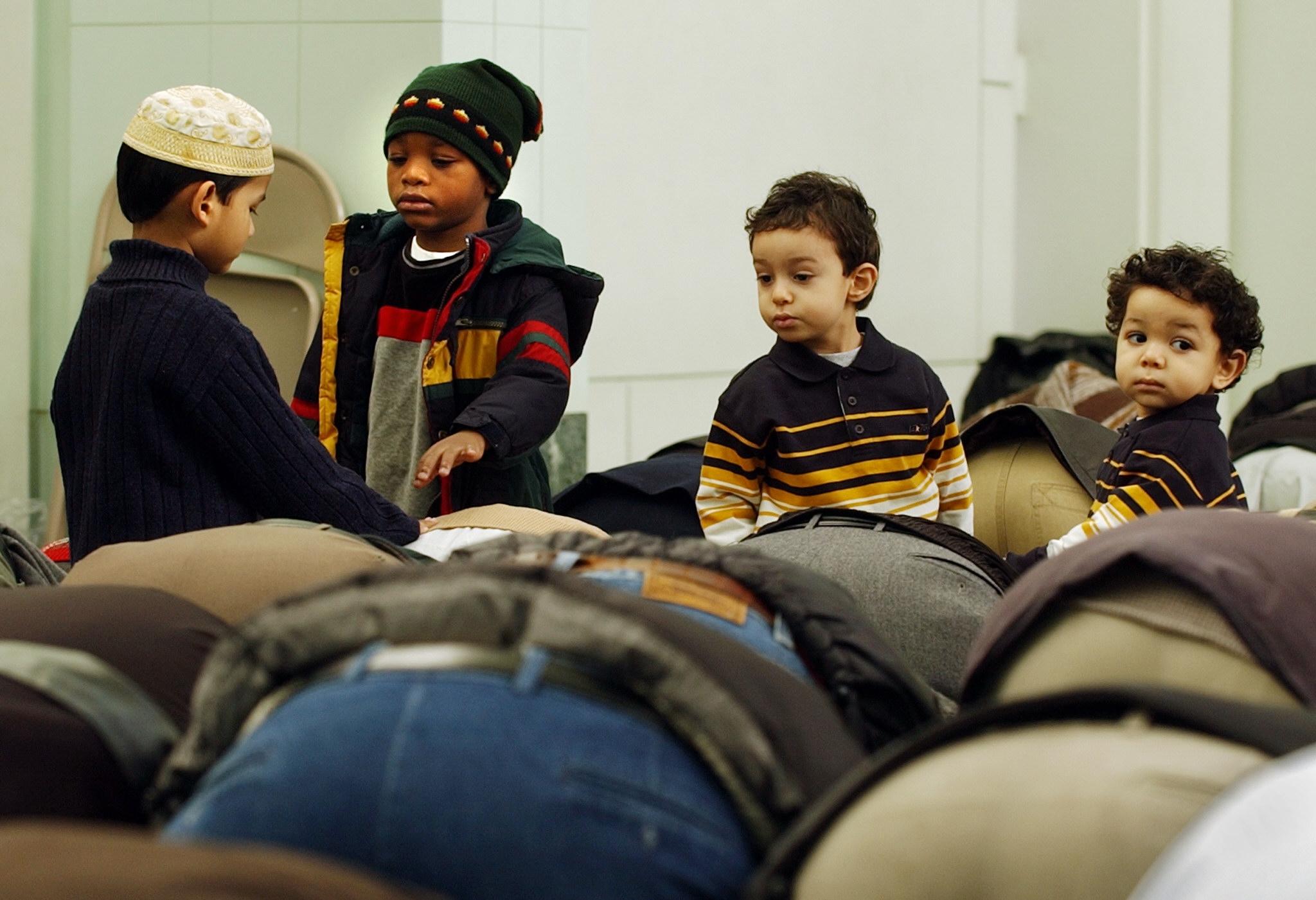 أطفال مسلمون في الولايات المتحدة