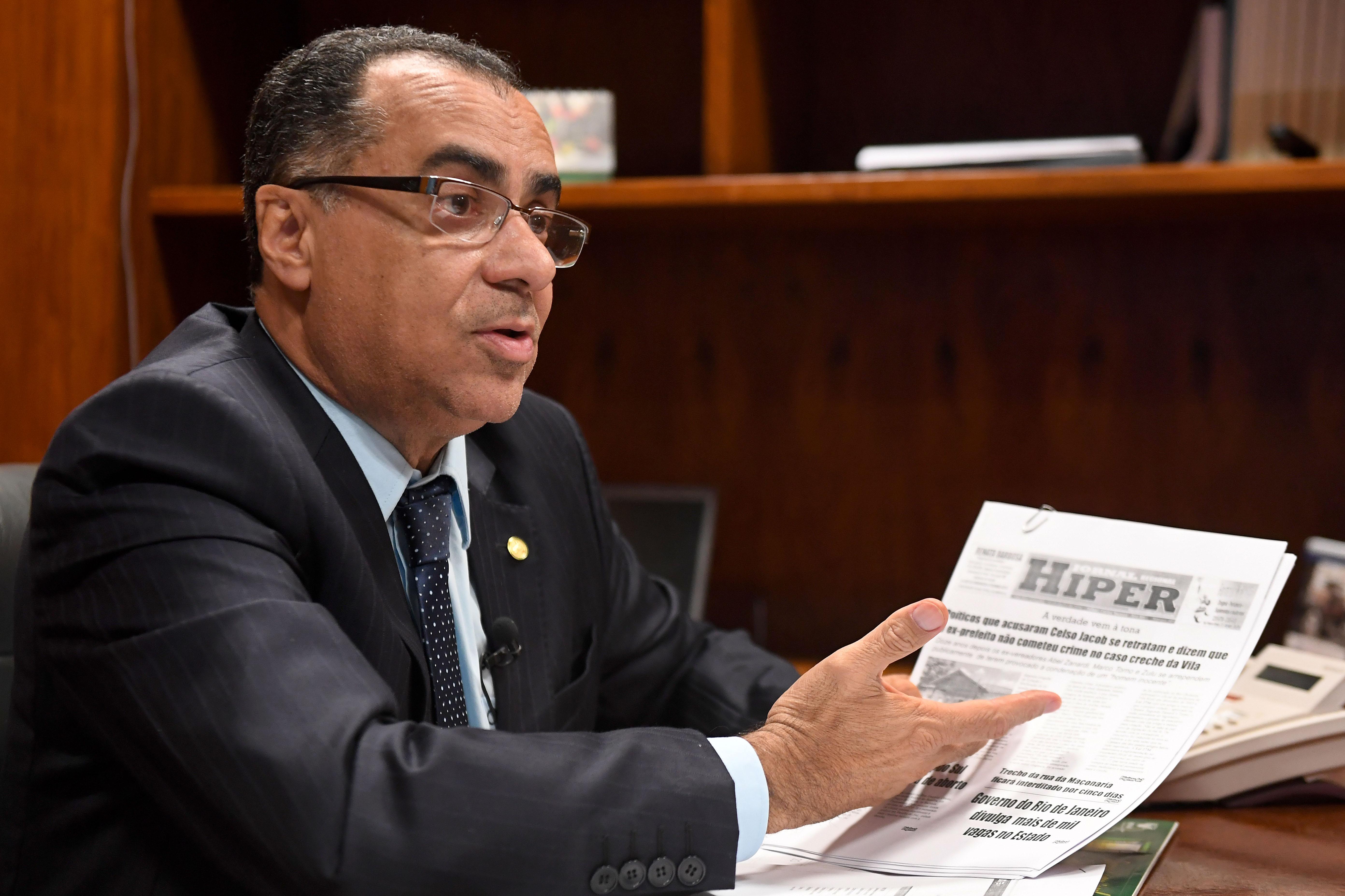 النائب في البرلمان البرازيلي سيسلو جاكوب