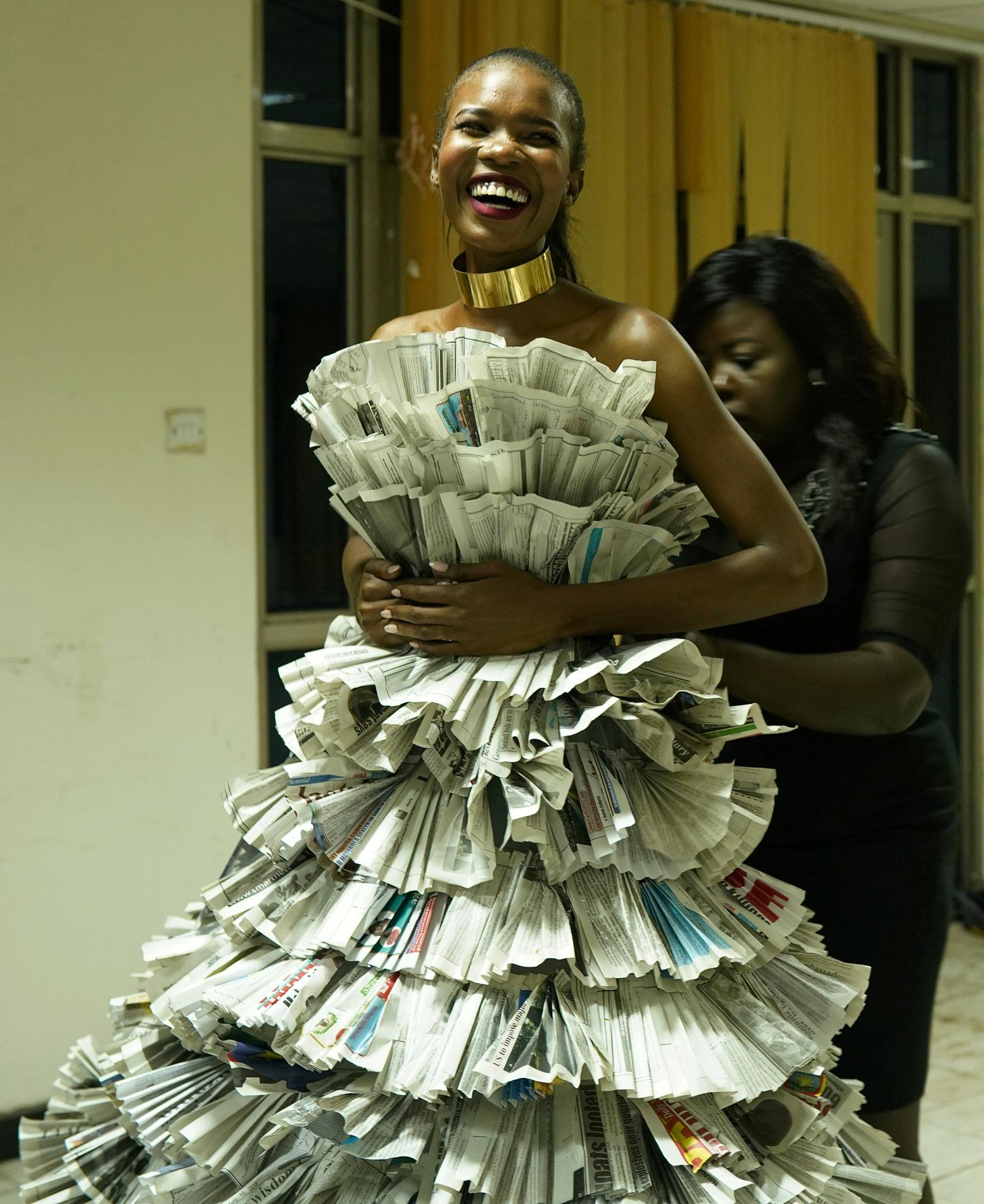 إحدى المشاركات في مسابقة ملكة جمال العالم لجنوب السودان