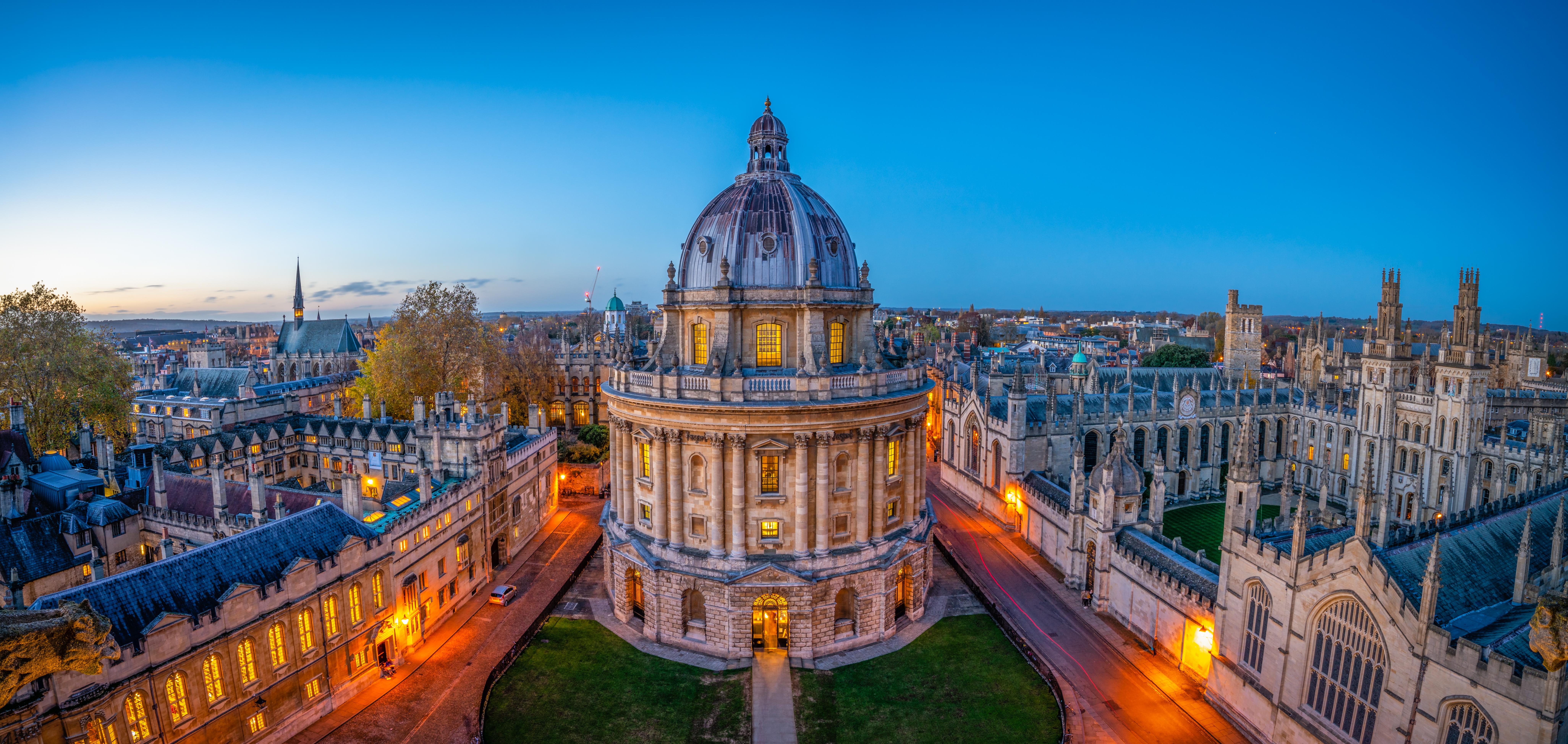 جامعة أكسفورد البريطانية