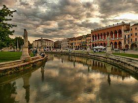 صورة من مدينة بادوفا الايطالية