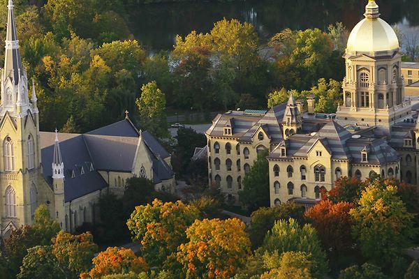 جامعة نوتردام، إنديانا