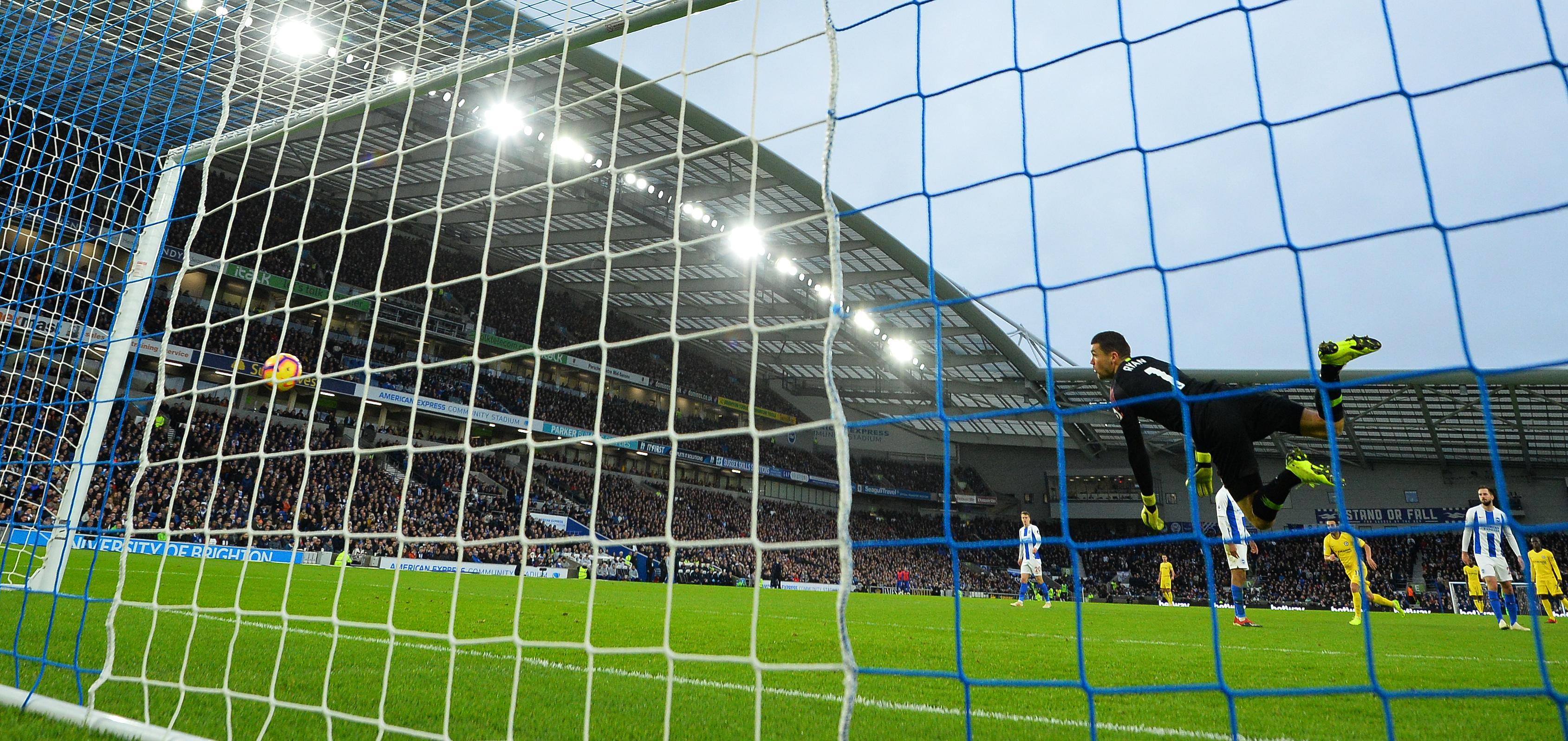 جانب من إحدى مباريات الدوري الإنكليزي الممتاز