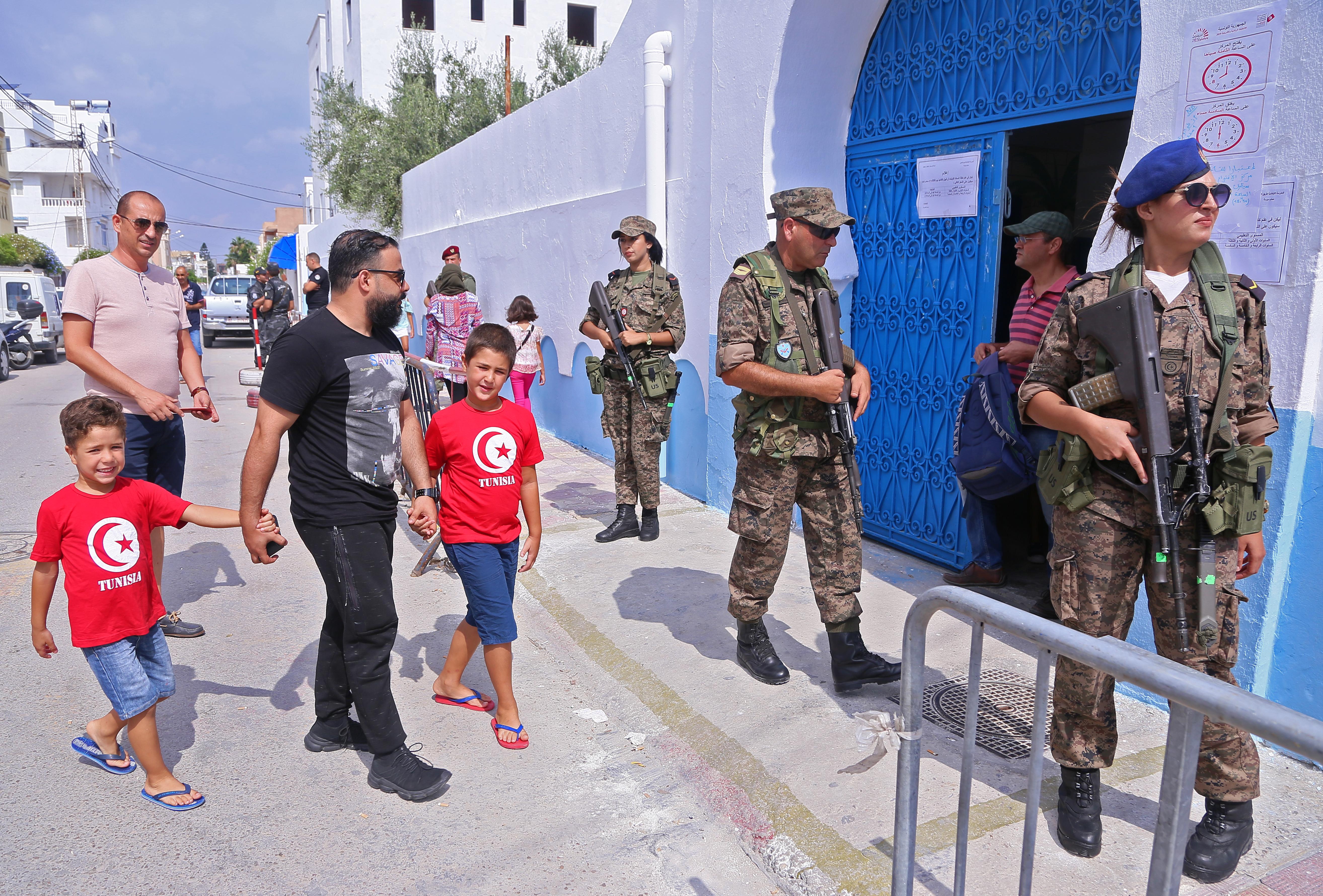 قوات الأمن انتشرت لضمان سير العملية الانتخابية بسلاسة