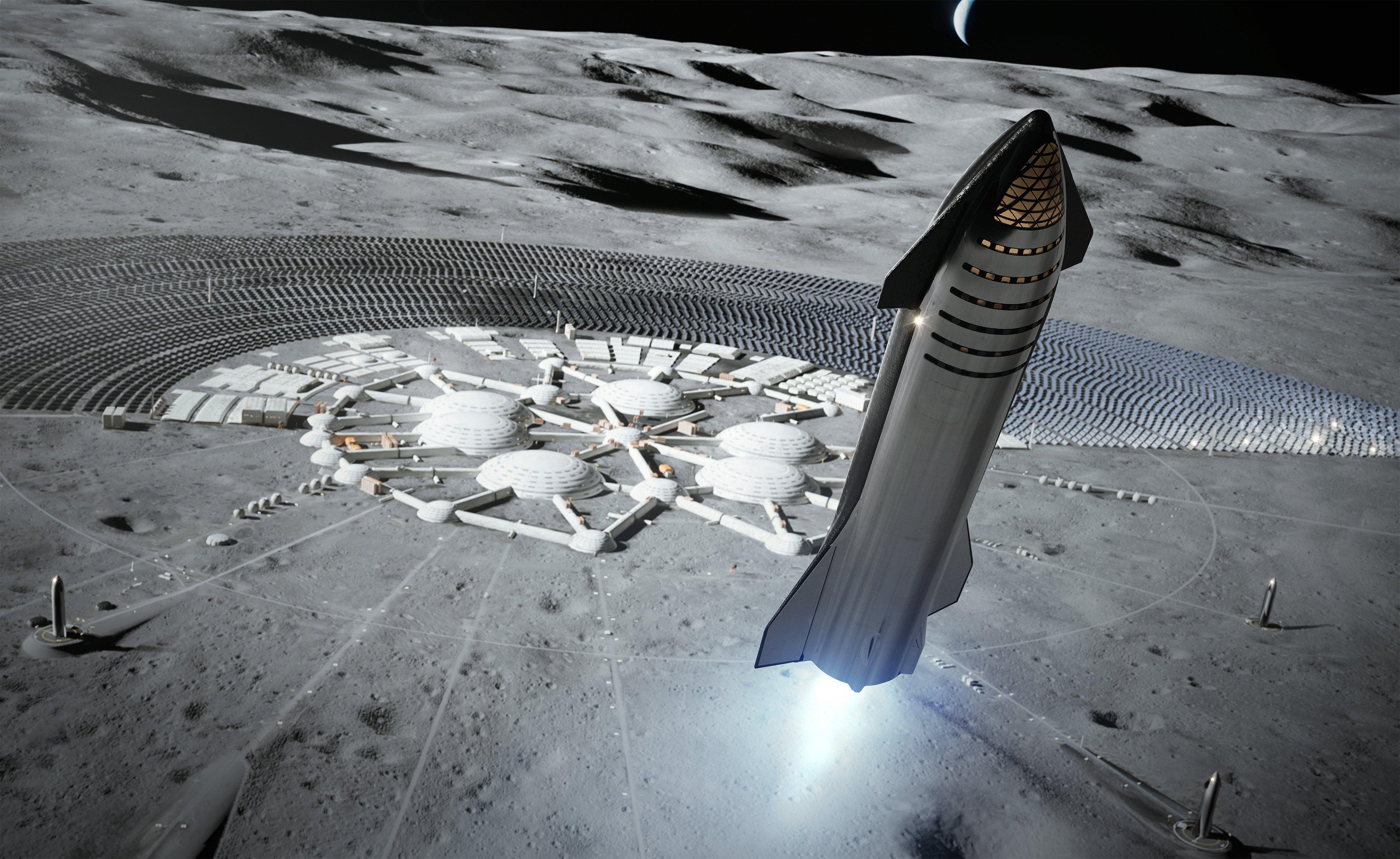 """صاروخ """"Starship"""" سيخصص للرحلات بين الكواكب"""
