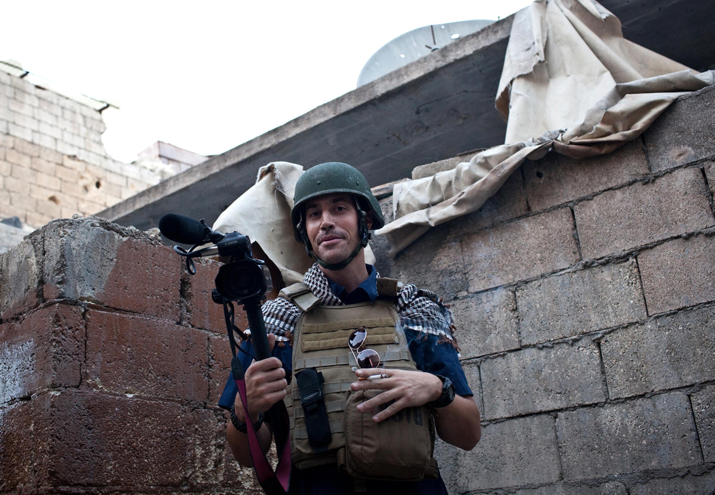الصحافي جيمس فولي الذي قتل على يد داعش